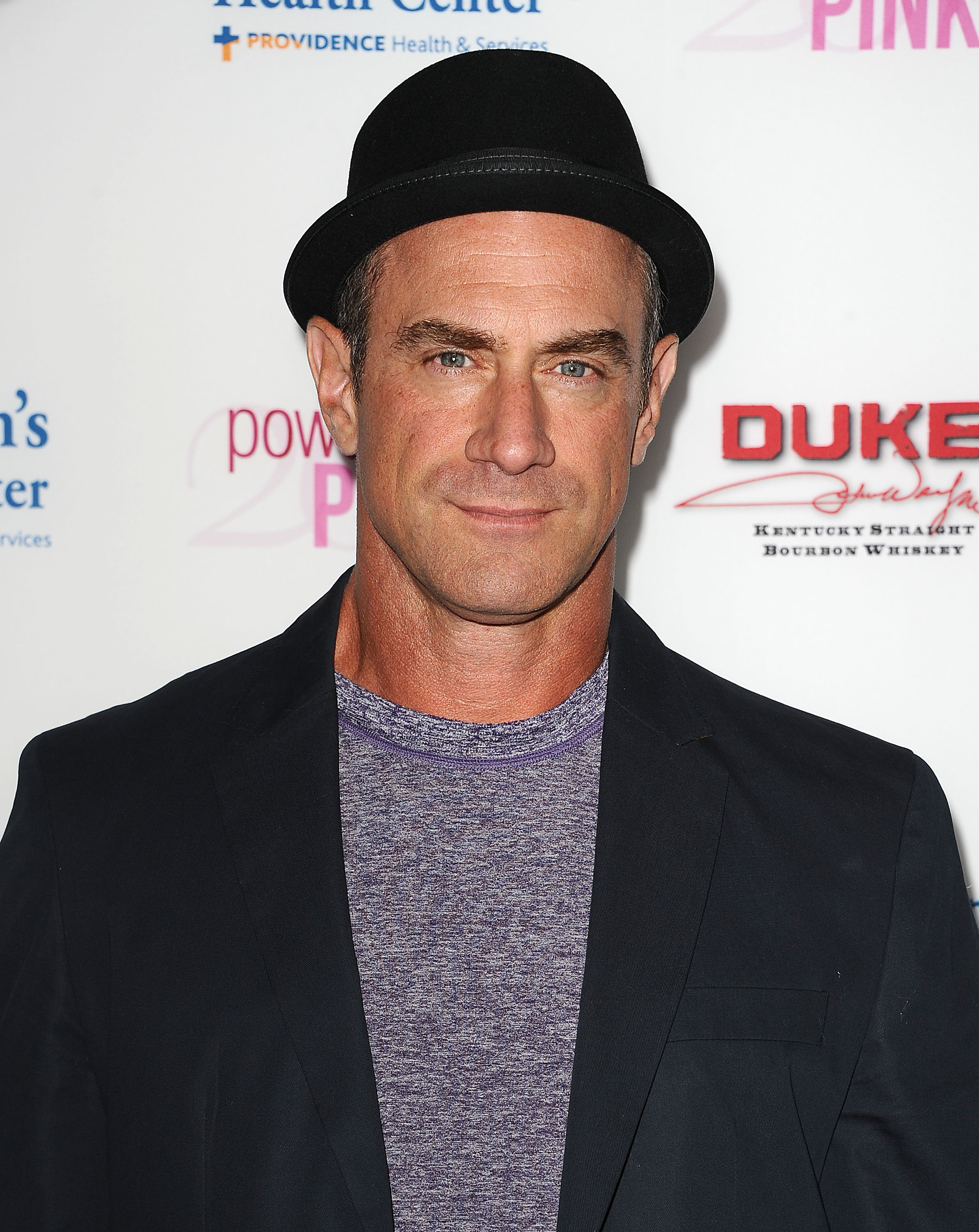 Christopher Meloni attends the 2014 Power of Pink in West Hollywood, California on October 23, 2014.