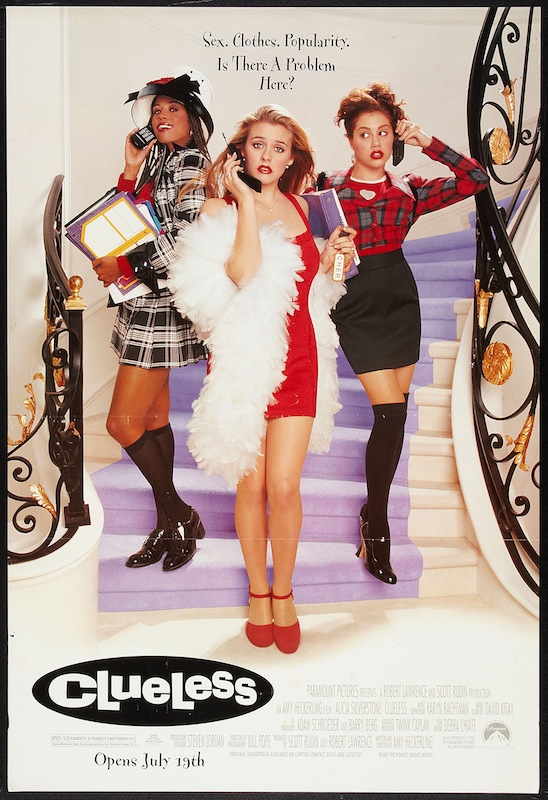 Poster for the movie 'Clueless,' 1995.