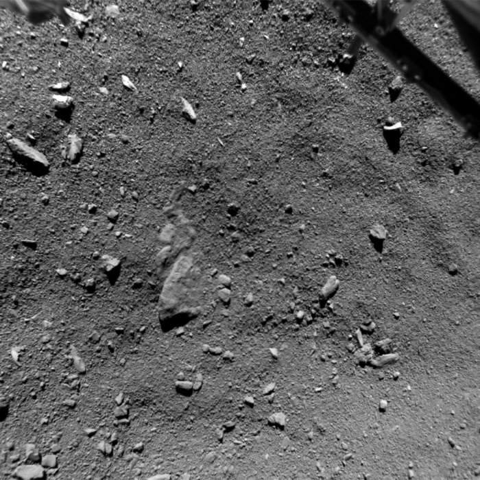 Anyone home? Philae's landing site on Comet P67
