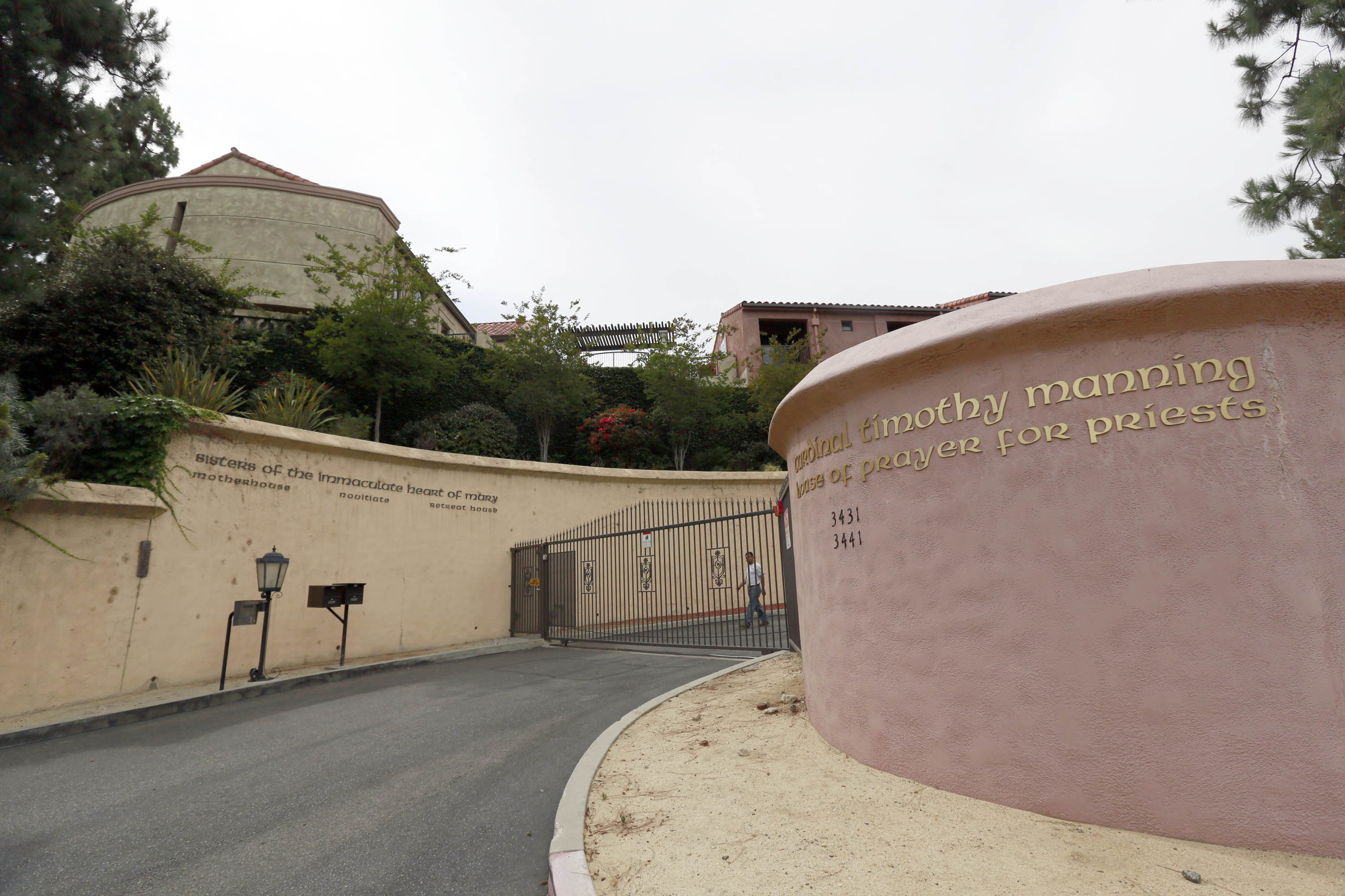 The Sisters of the Immaculate Heart of Mary property in the Los Feliz area of Los Angeles. Singer Katy Perry sought to purchase the property.