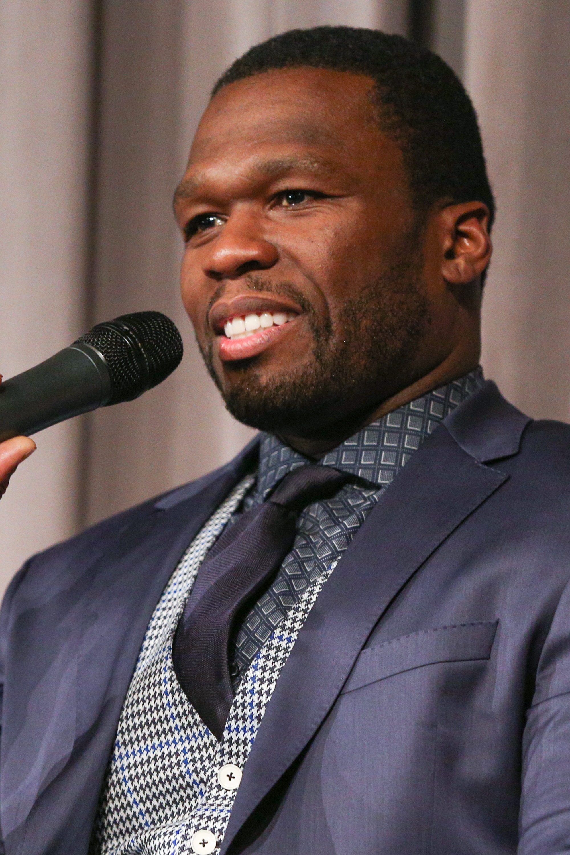 50 Cent at the 'Southpaw' SAG Foundation Conversations in West Hollywood, Calif. on July 13, 2015.