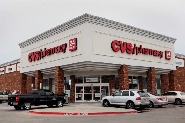 A CVS store in Dallas in 2014.