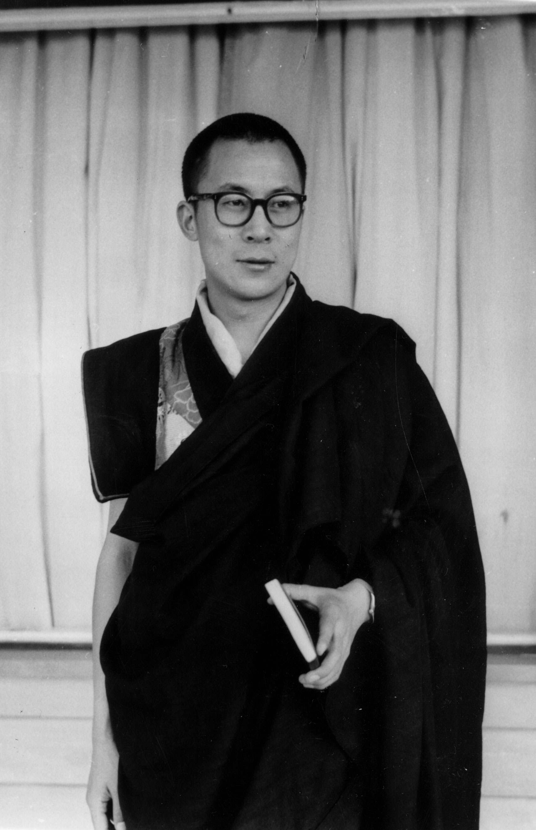 His Holiness in Lhasa, circa 1956.