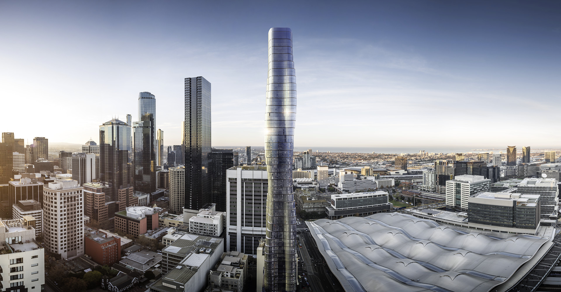 The proposed Premier Tower was inspired by Beyoncé's  Ghost  video.