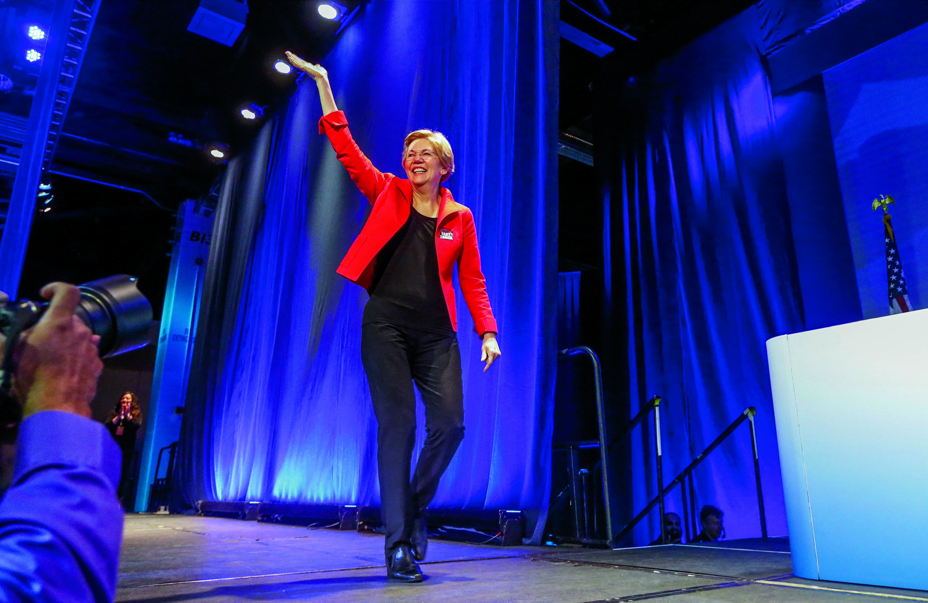Massachusetts Senator Elizabeth Warren has led a liberal rebellion  against President Obama and some of his economic advisers.