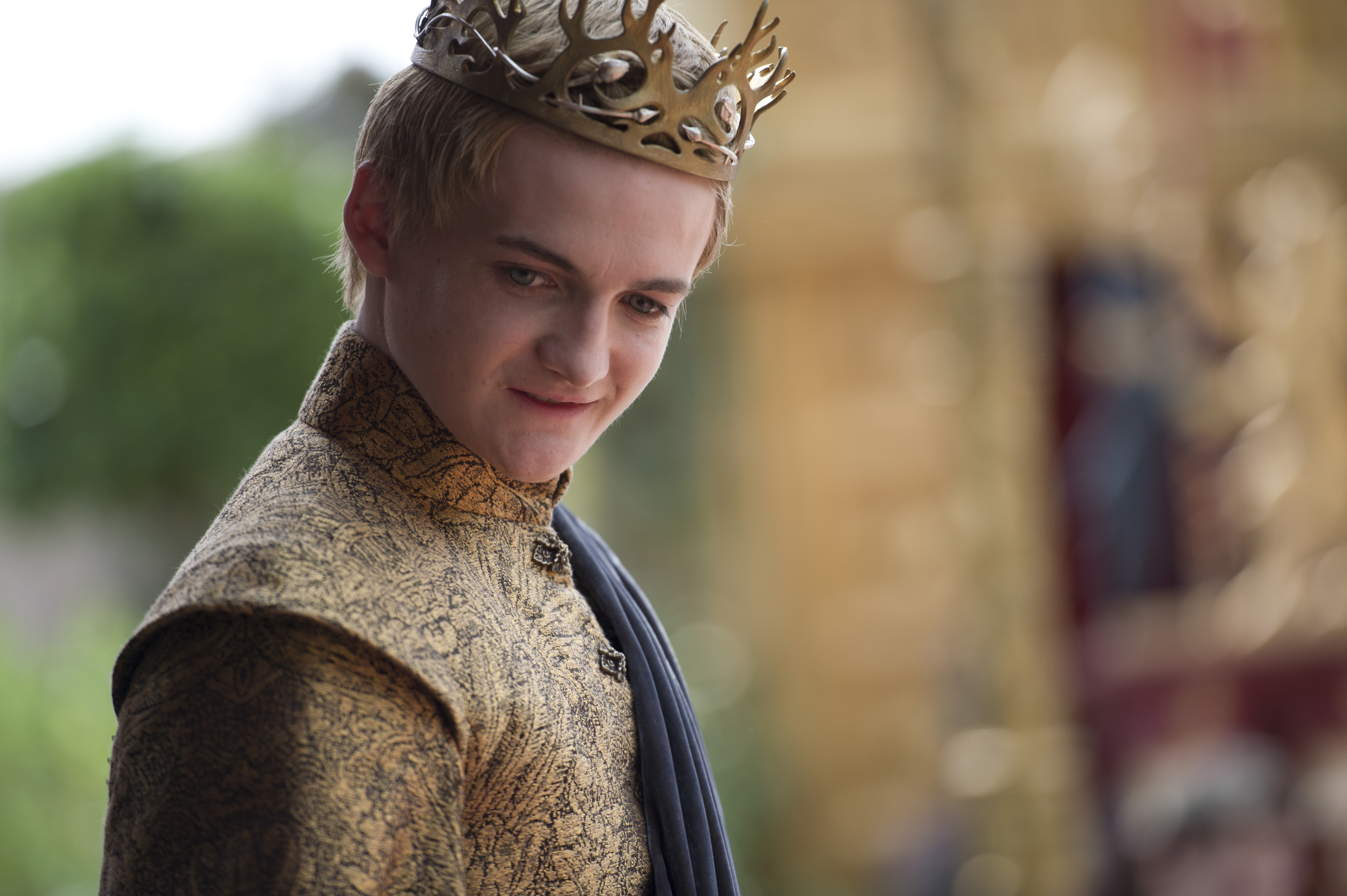 Jack Gleeson as Joffrey Baratheon on Game of Thrones