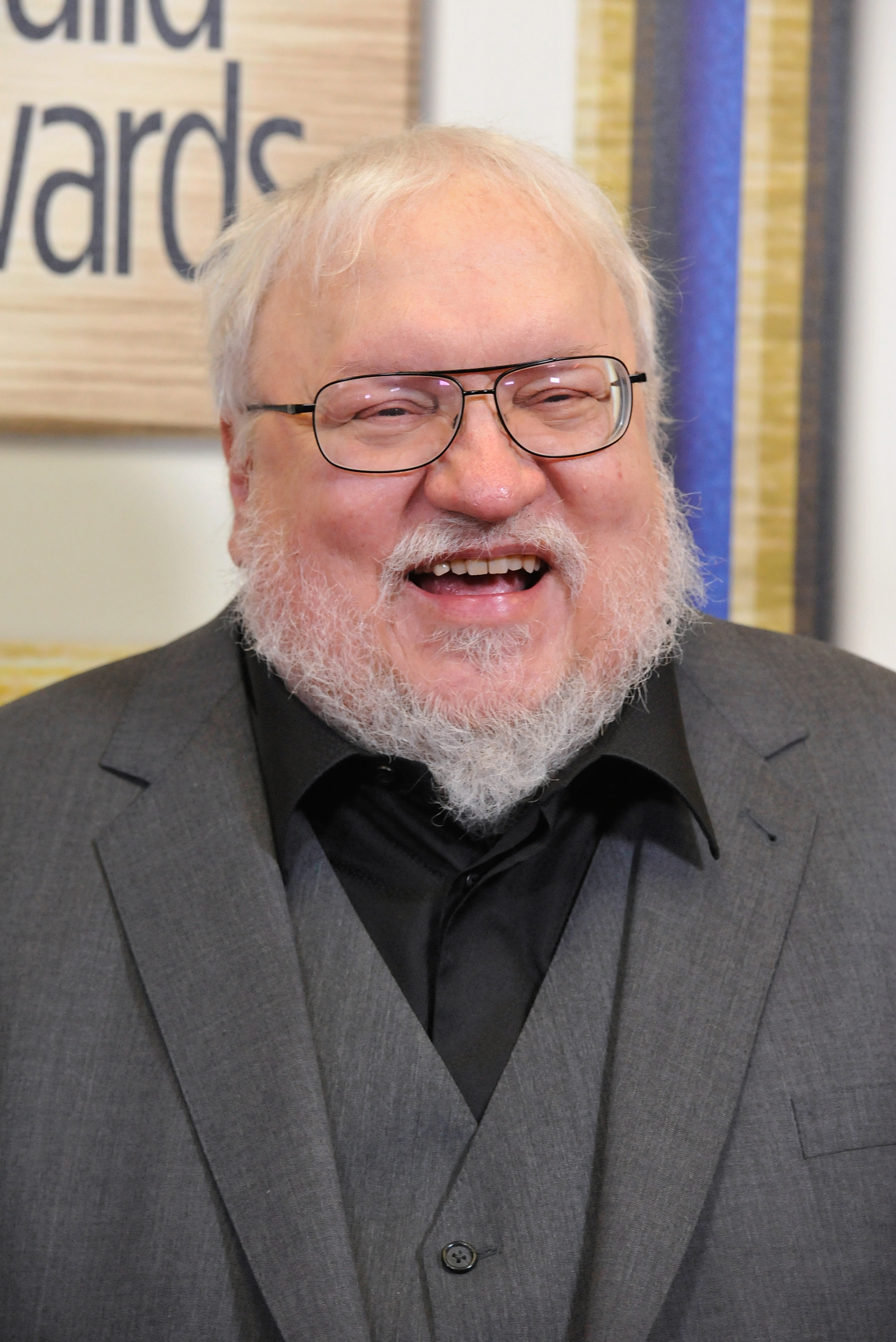 Writer George R.R. Martin attends the 2015 Writers Guild Awards Ceremony at the Hyatt Regency Century Plaza on Feb.14, 2015 in Los Angeles.