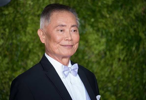 George Takei at the 69th Annual Tony Awards in New York City on June 7, 2015.