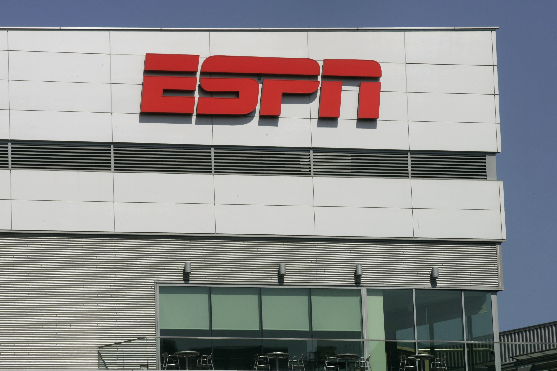 The ESPN logo.
