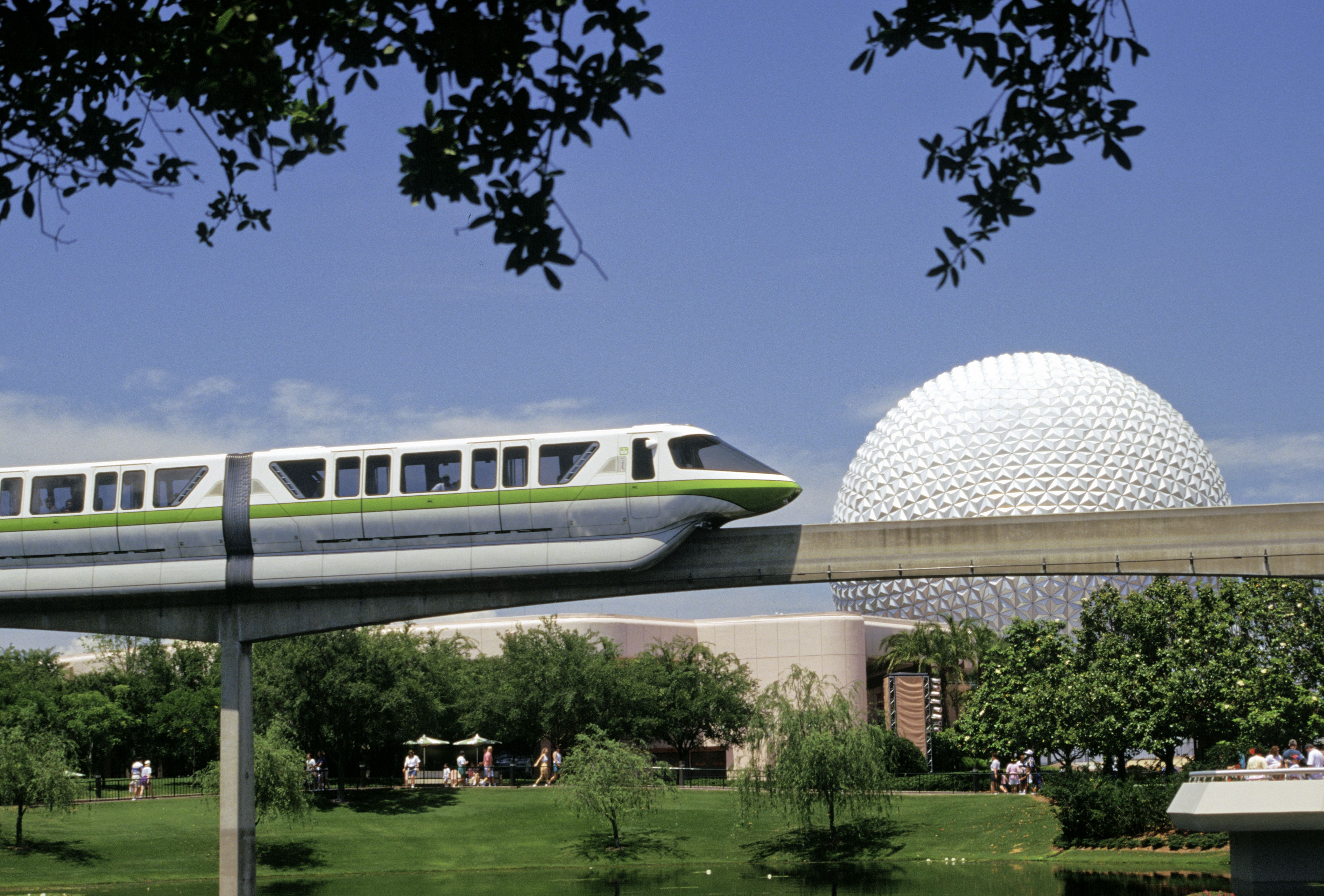 Disney World's Epcot theme park in Orlando, Fla.