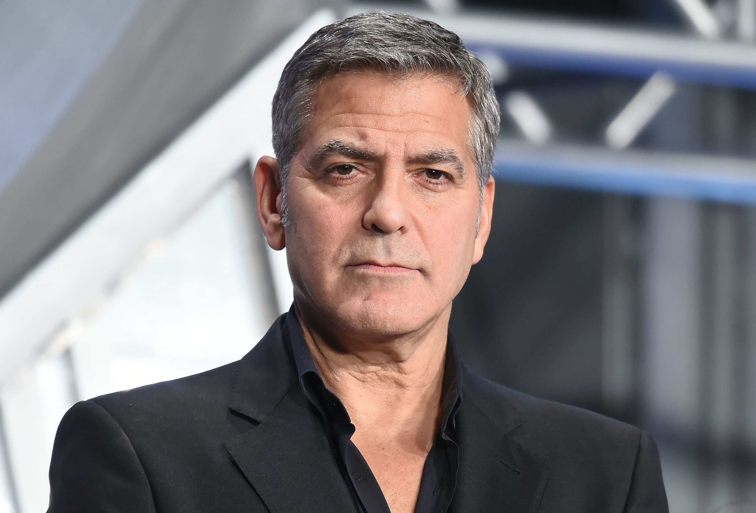George Clooney attends the Tokyo premiere of  Tomorrowland  at Roppongi Hills on May 25, 2015 in Tokyo, Japan.
