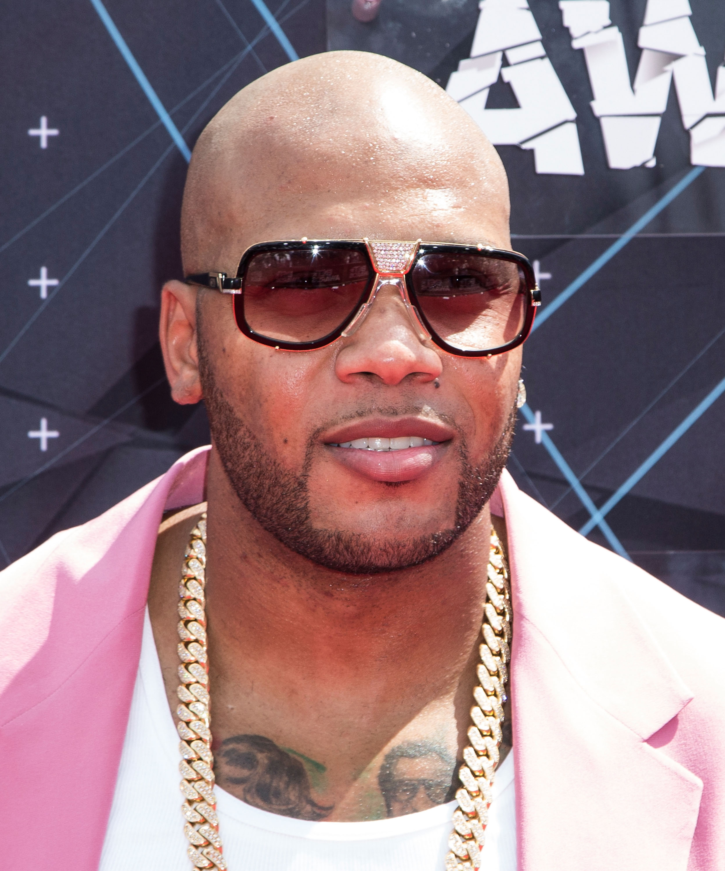 Rapper Flo Rida attends the 2015 BET Awards on June 28, 2015 in Los Angeles, Calif.
