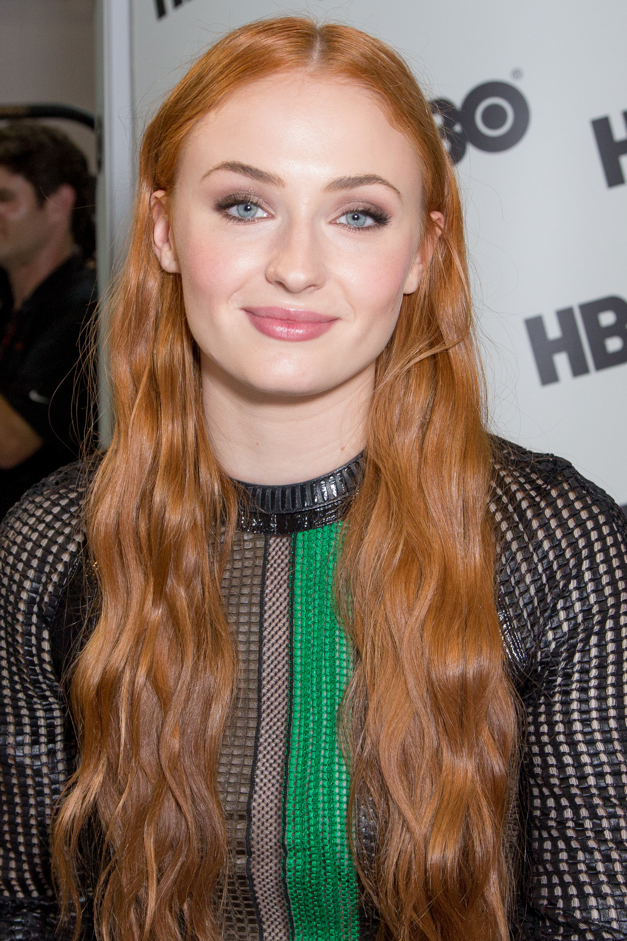 Actress Sophie Turner attends a fan signing for 'Game of Thrones' during Comic-Con International on July 10, 2015 in San Diego, California.