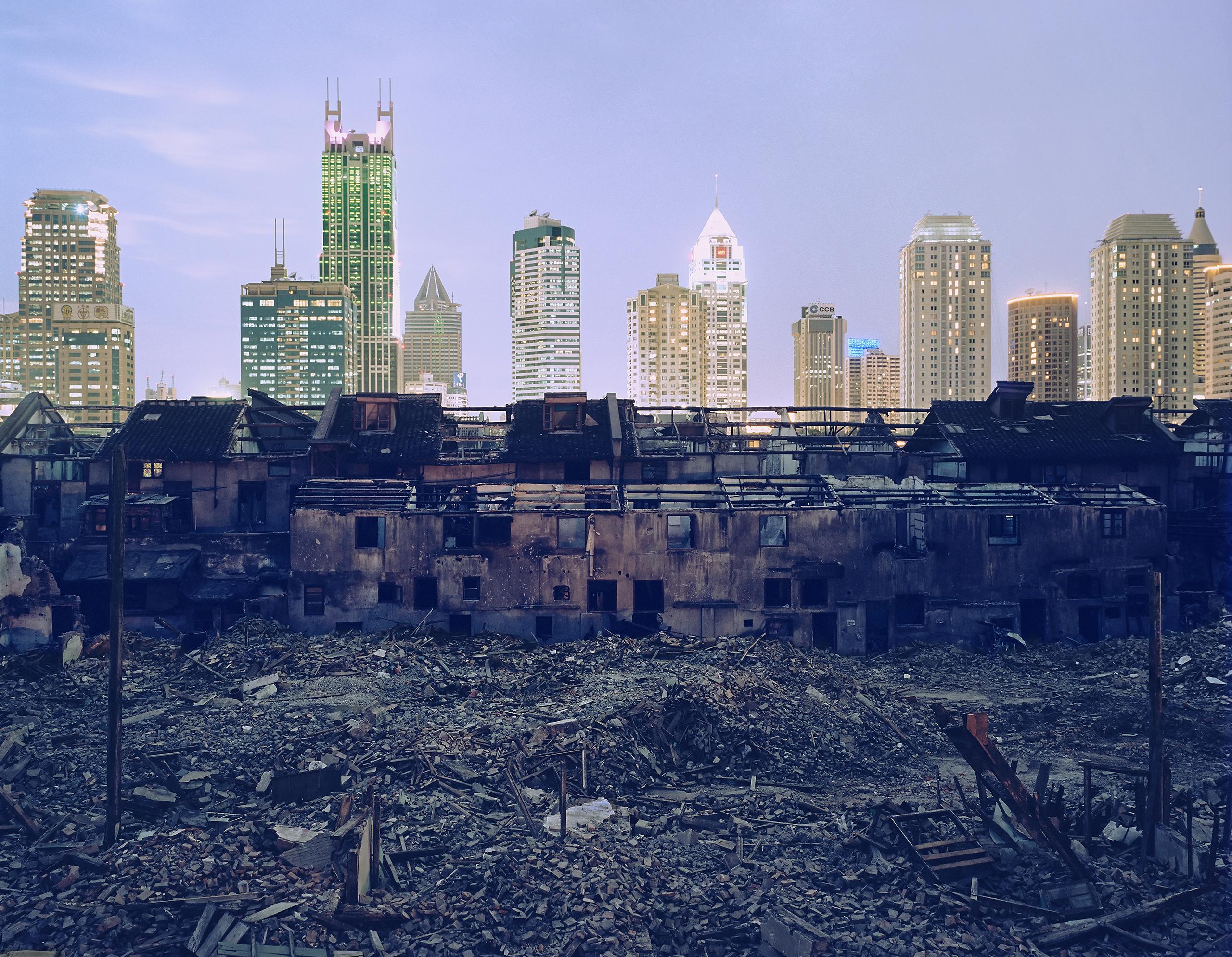Shanghai Falling (Fuxing Lu Demolition), 2002