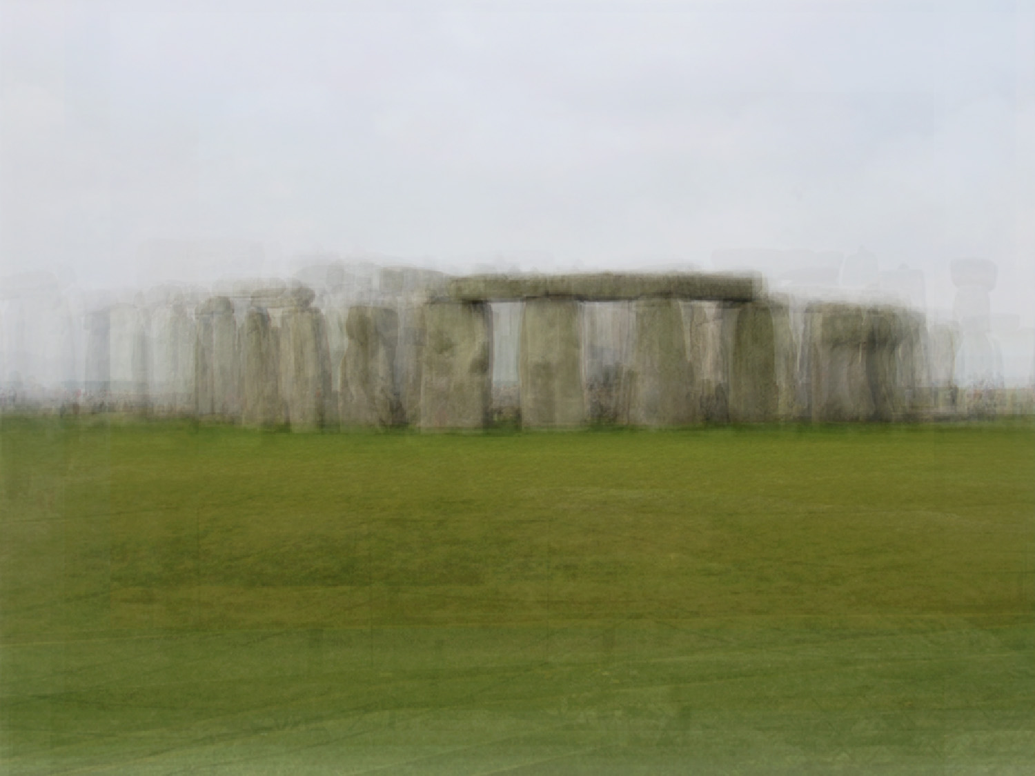"""Stonehenge, 2007 from the series """"Photo Opportunities"""""""