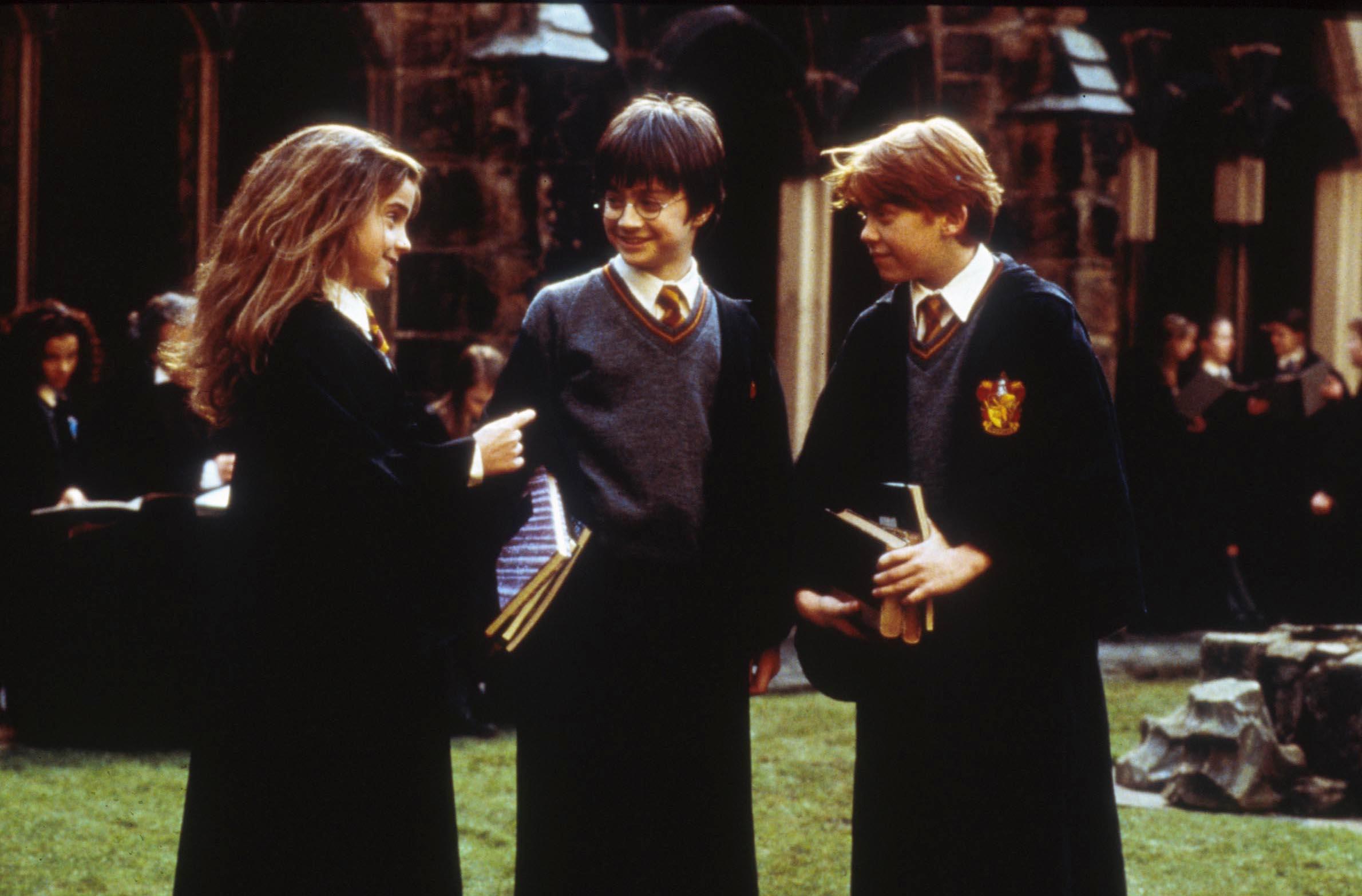 Harry Potter Hermione Granger Ron Weasley