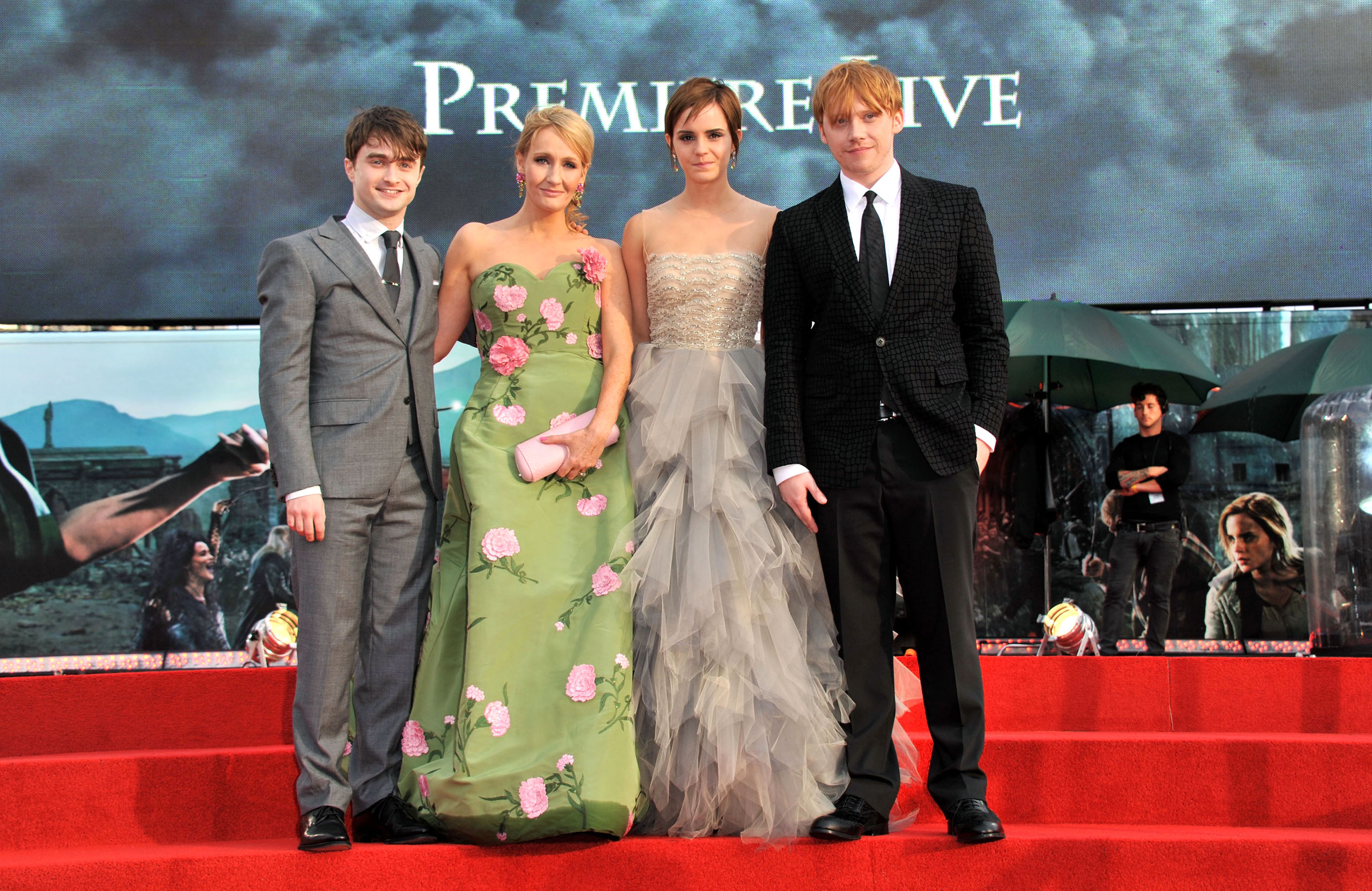 Harry Potter Deathly Hallows Premiere