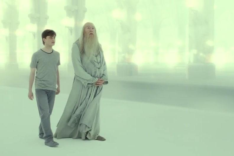 Harry Potter Dumbledore Deathly Hallows