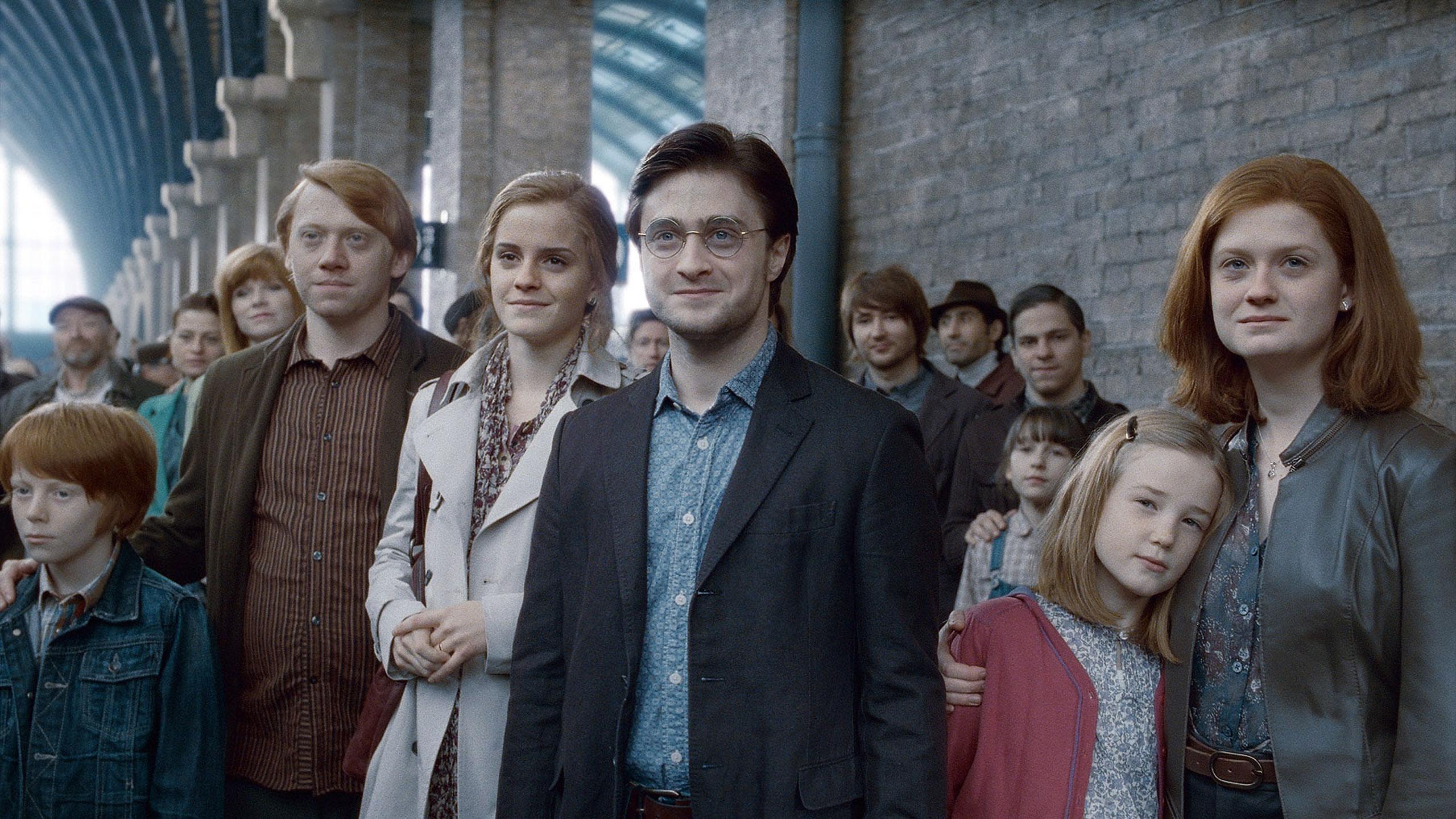 Harry Potter Hermione Granger Ron Weasley Old