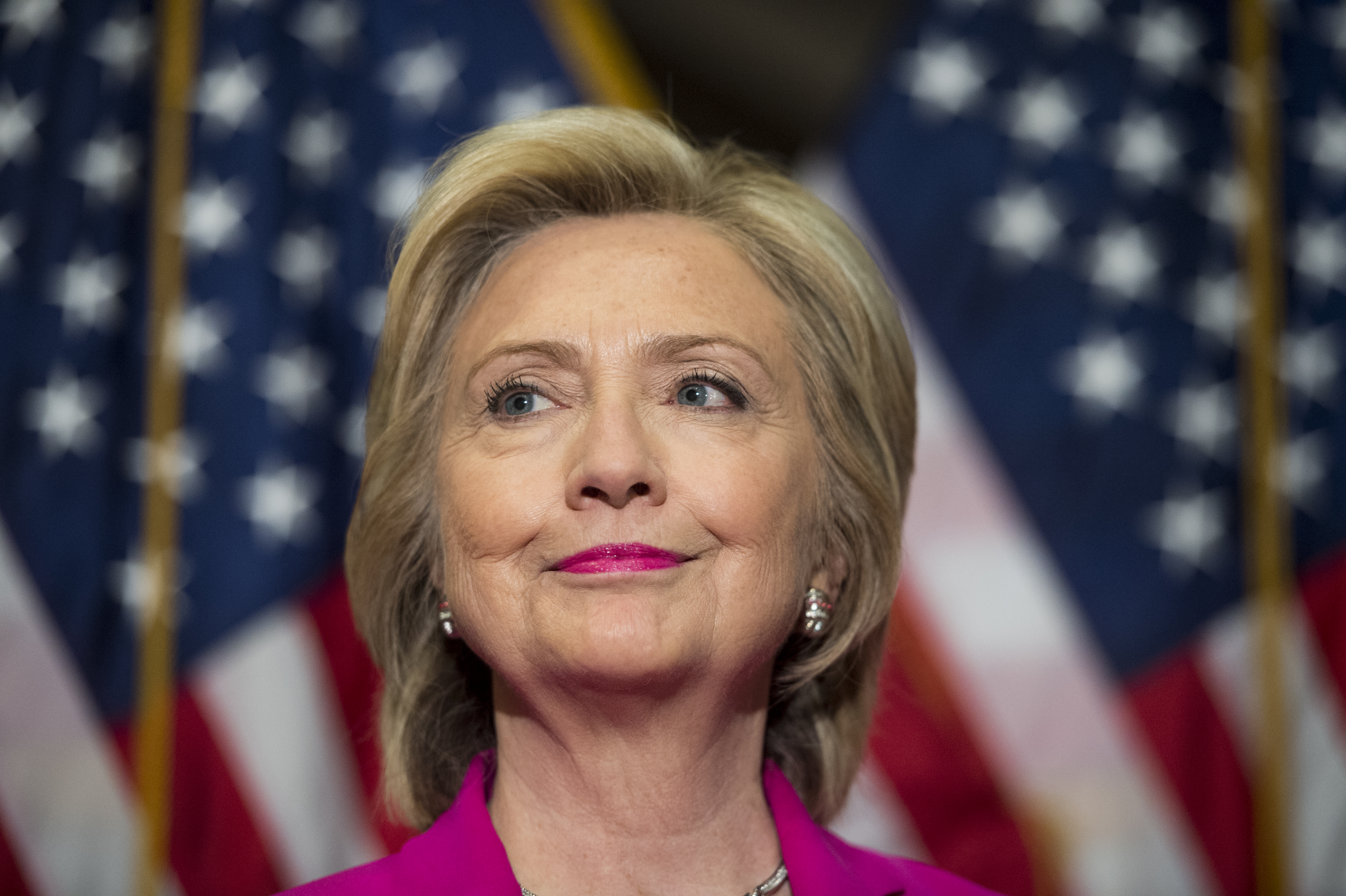 Hillary Rodham Clinton at the U.S. Capitol on July 14, 2015.