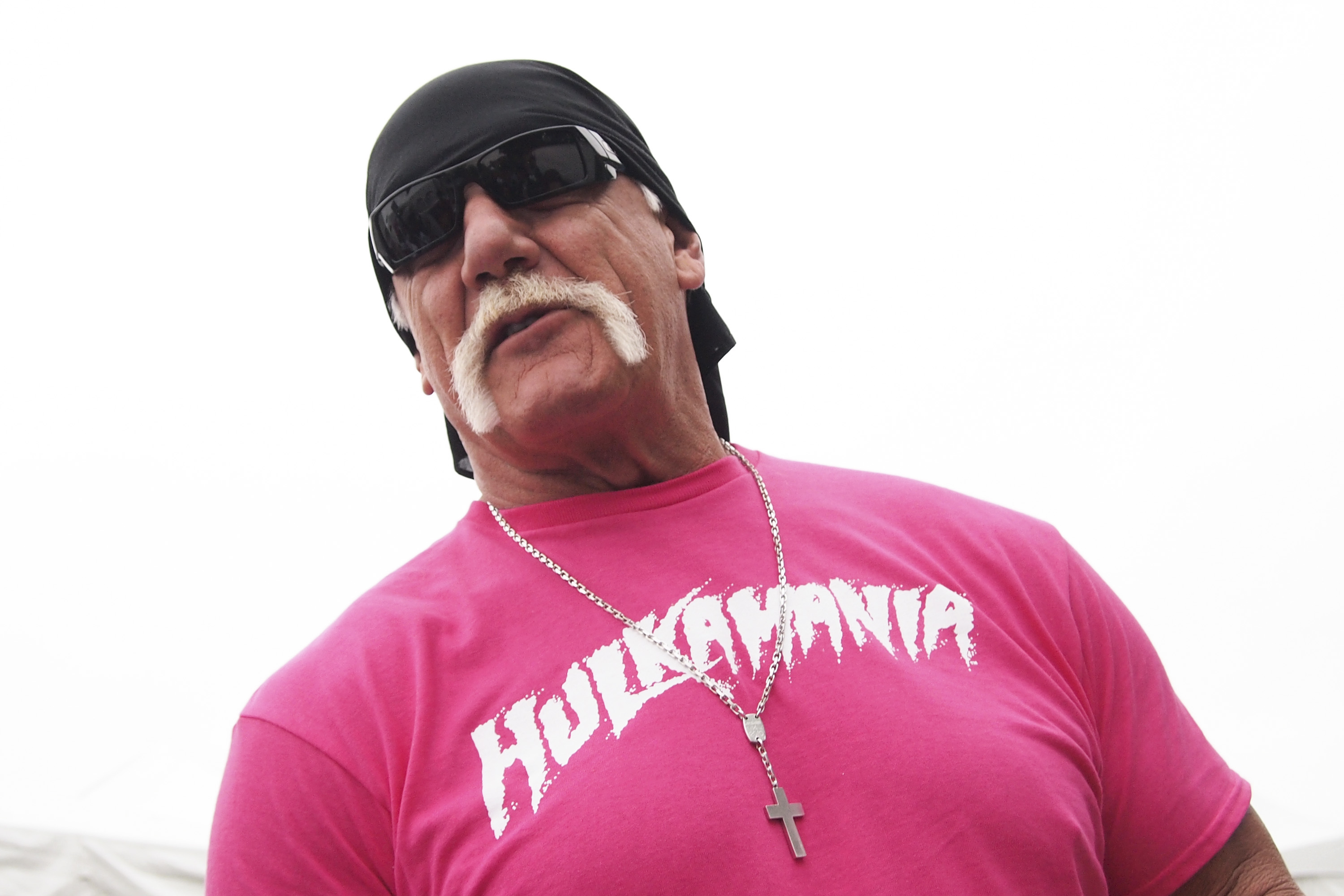 WWE Legend Hulk Hogan attends the 2015 Susan G. Komen D.C. Race for the Cure at The National Mall on May 9, 2015 in Washington DC.