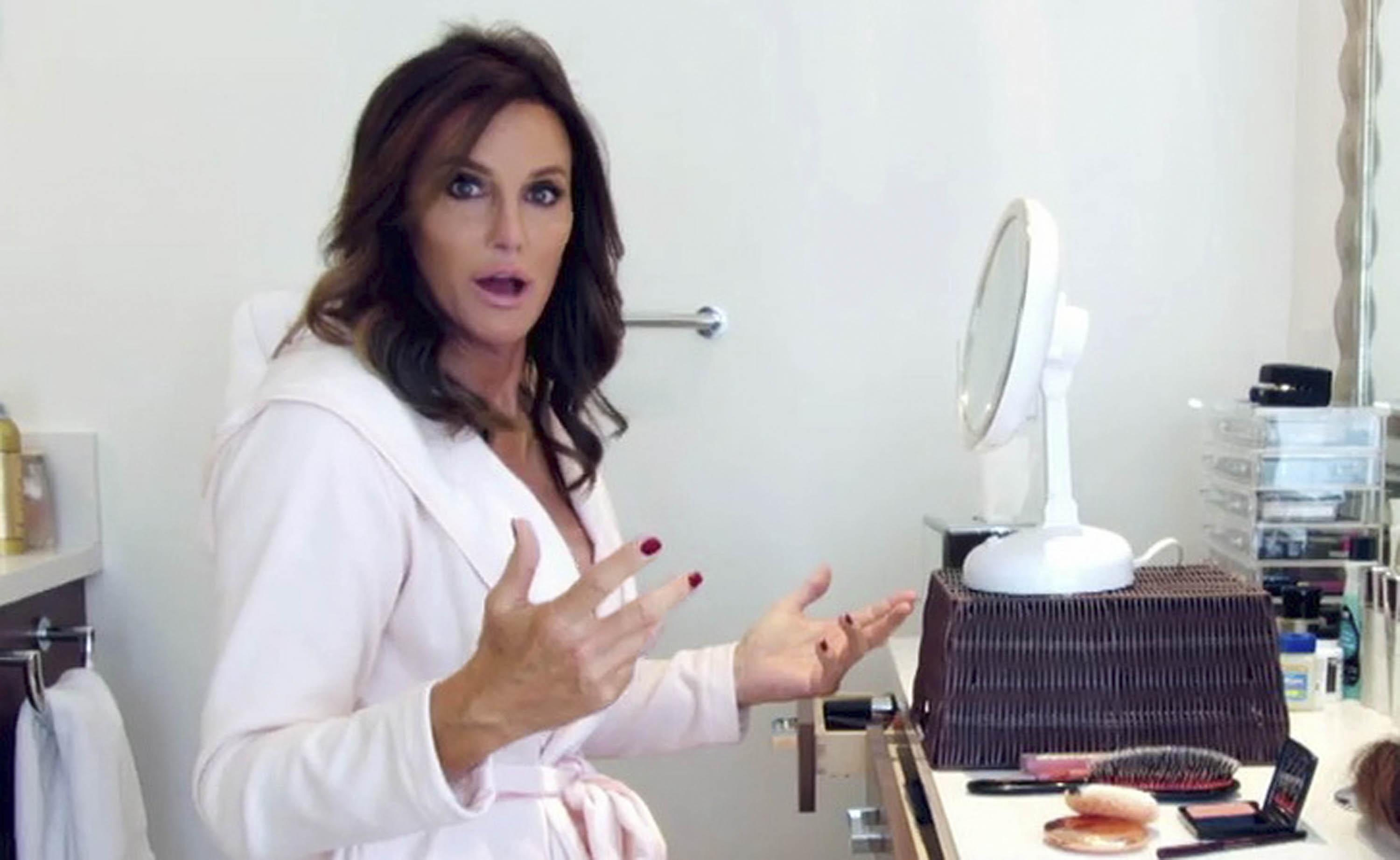 The first question in Jenner's new reality show: Will her mother accept her new identity?