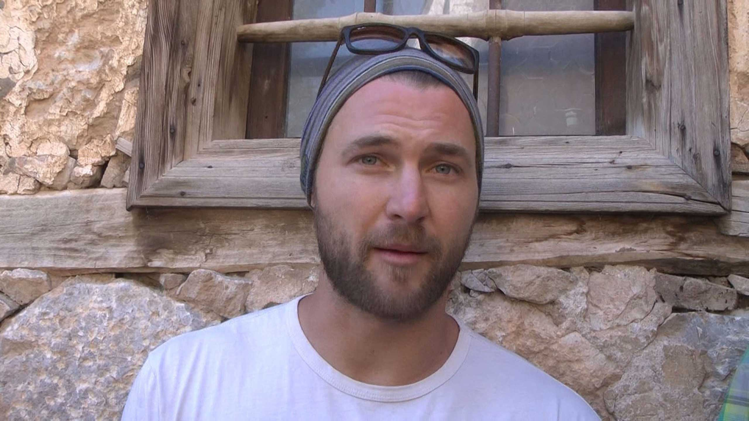 American base jumper Ian Flanders seen in Turkey before accident.