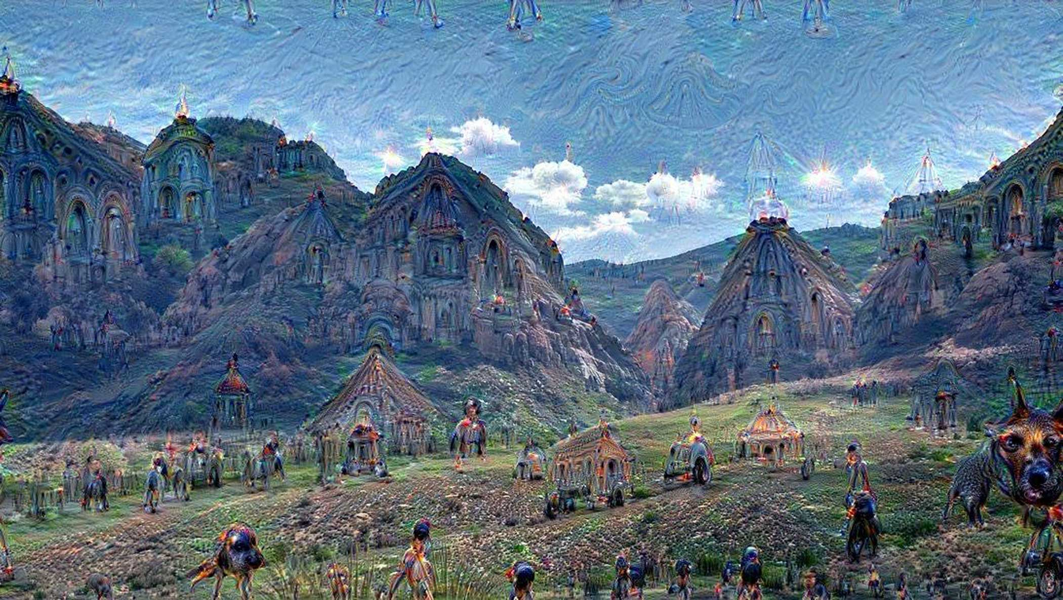 In the future neural networks could be used by artists as a new form of visual expression