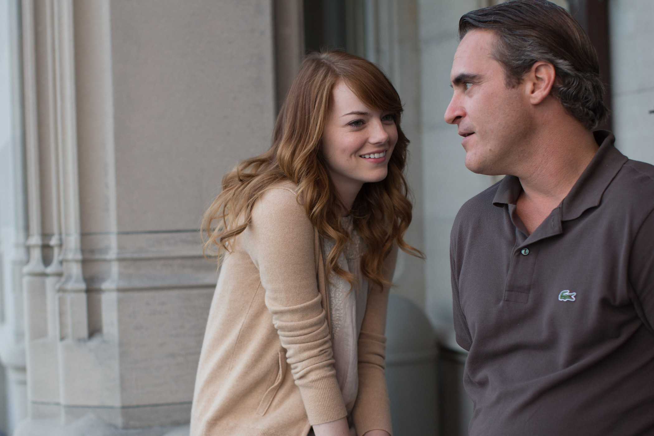 Emma Stone and Joaquin Phoenix star in Irrational Man