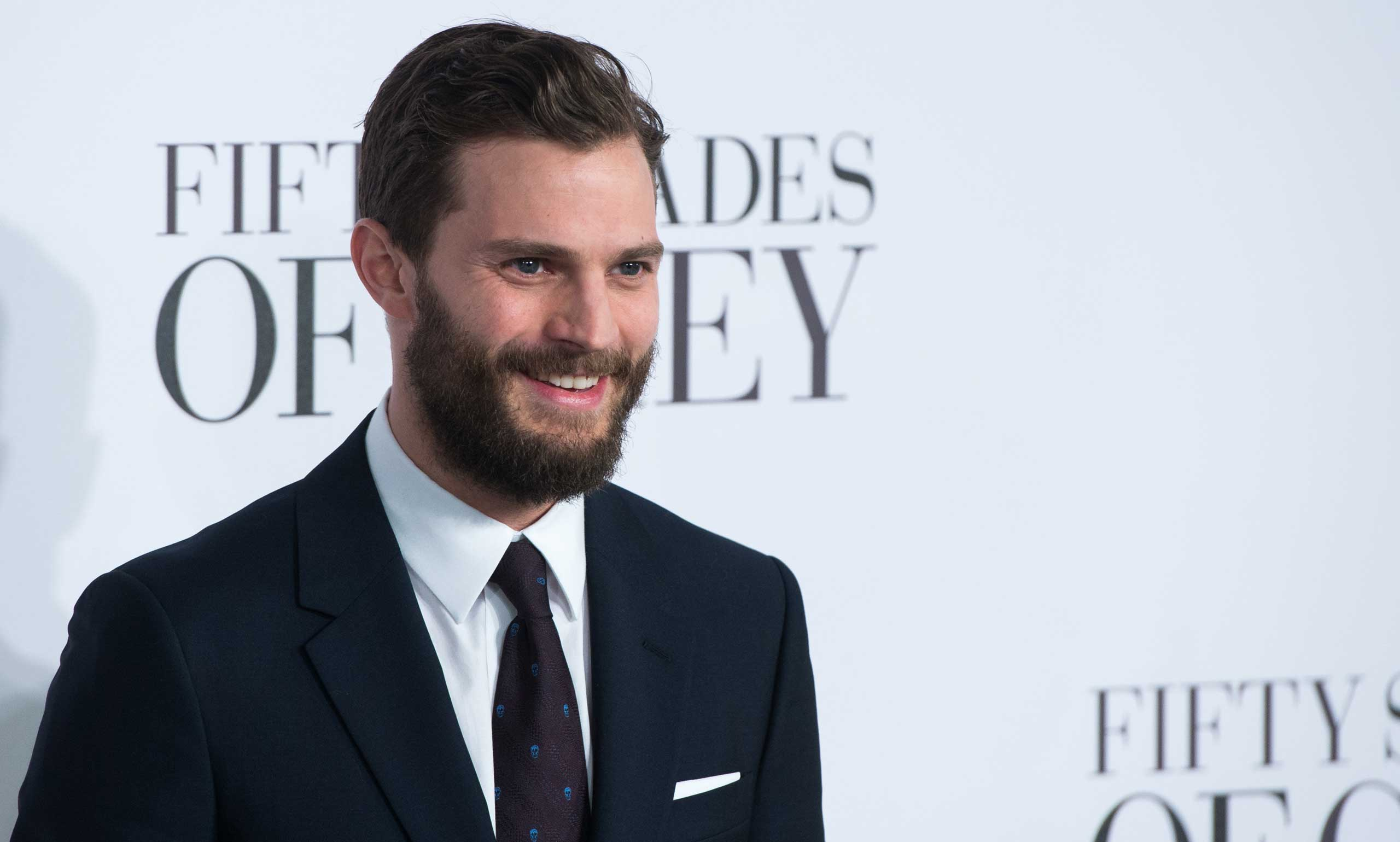 Jamie Dornan attends the UK Premiere of  Fifty Shades Of Grey  at Odeon Leicester Square in London on Feb. 12, 2015.