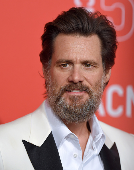 Jim Carrey at LACMA's 50th Anniversary Gala in Los Angeles on April 18, 2015.