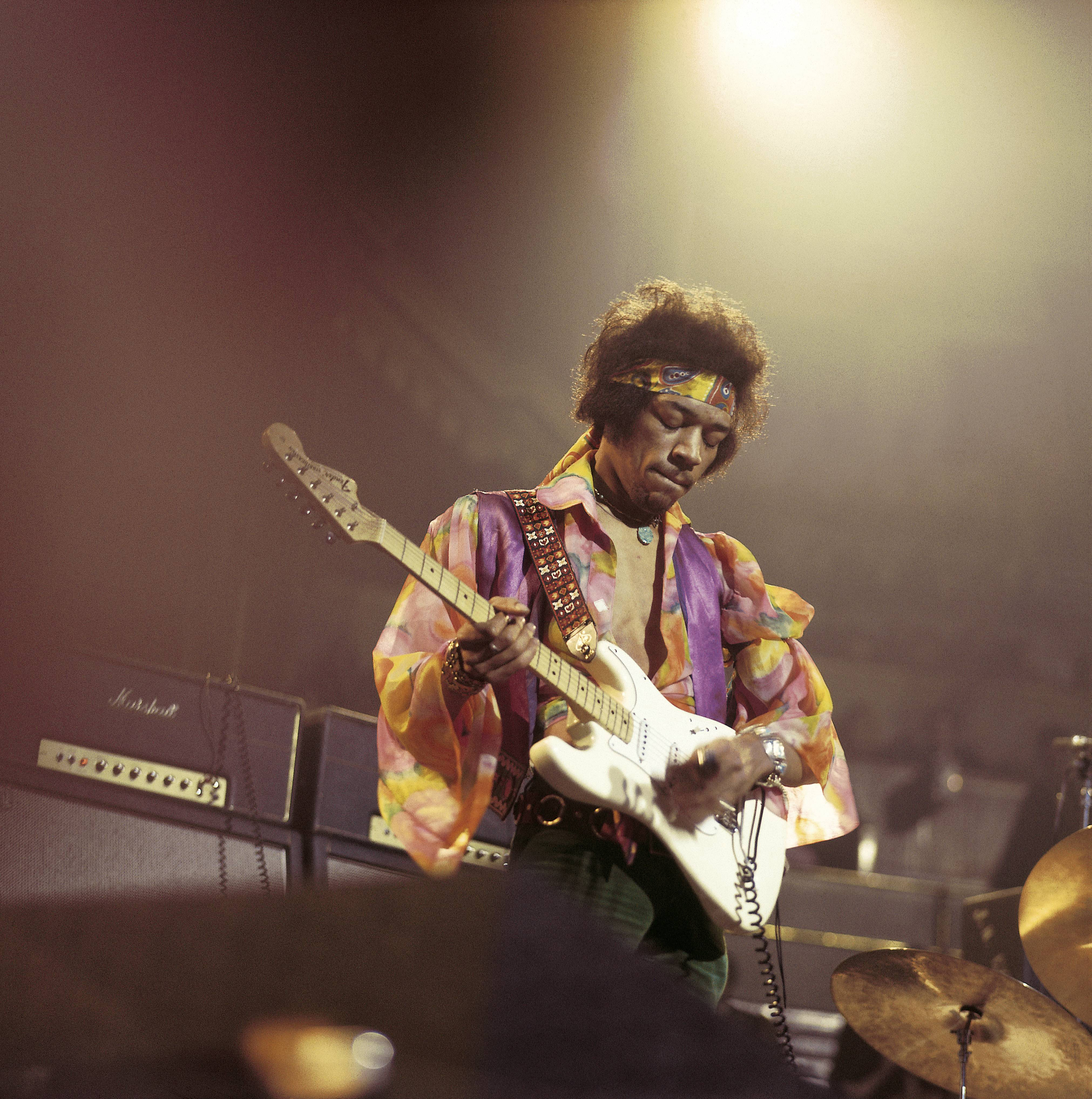 Jimi Hendrix The greatest of all time? Maybe. No one merged the blues, rock and psychedelia with as much ease or wielded a guitar with as much charisma.