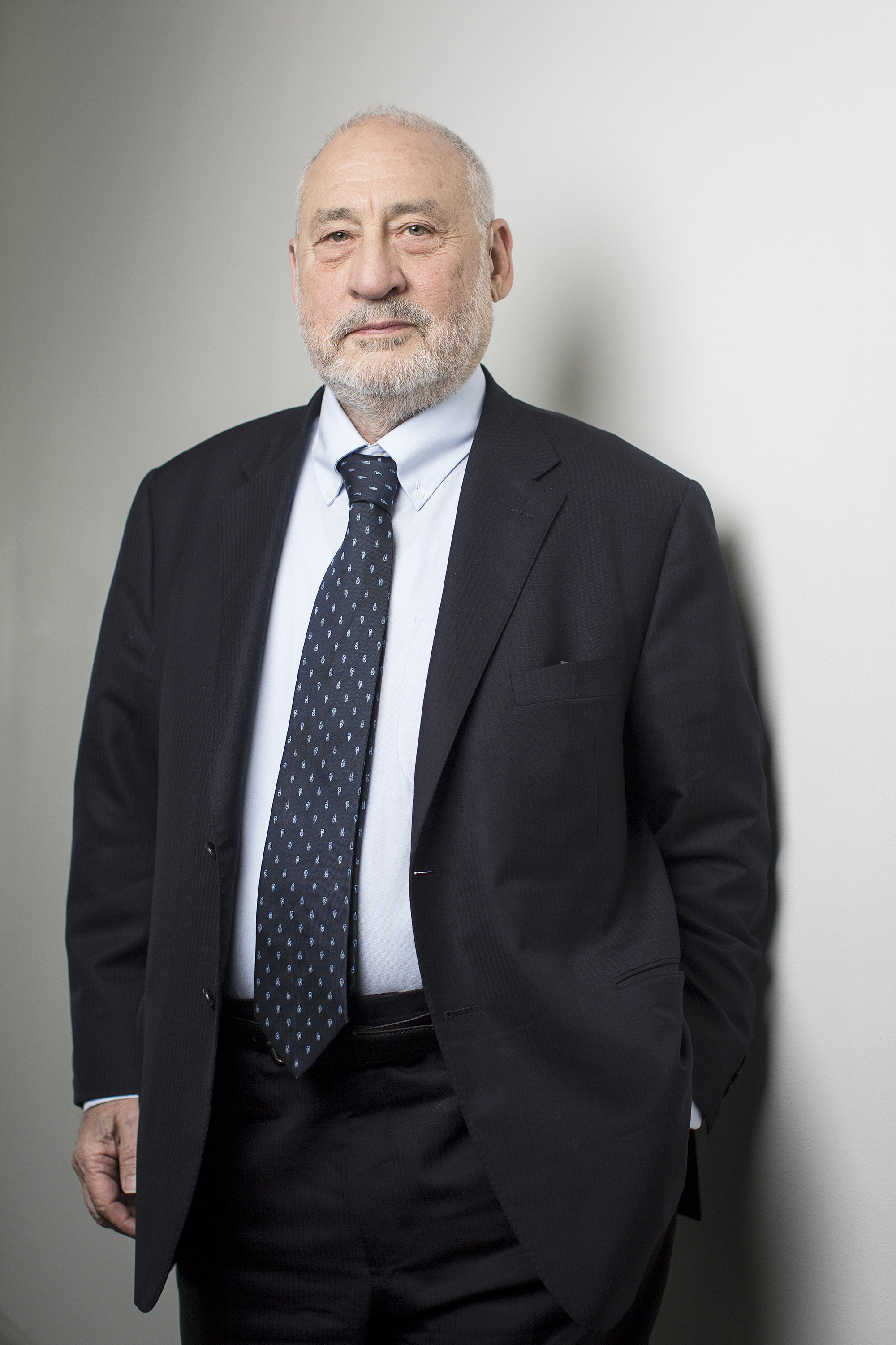 Joseph Stiglitz, Nobel prize-winning economist and professor of economics at Columbia University in London, U.K., on May 19, 2015.