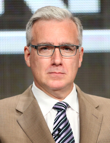 BEVERLY HILLS, CA - JULY 24:  TV Personality Keith Olbermann speaks onstage during the Olbermann panel at the ESPN portion of the 2013 Summer Television Critics Association tour at the Beverly Hilton Hotel on July 24, 2013 in Beverly Hills, California.  (Photo by Frederick M. Brown/Getty Images)
