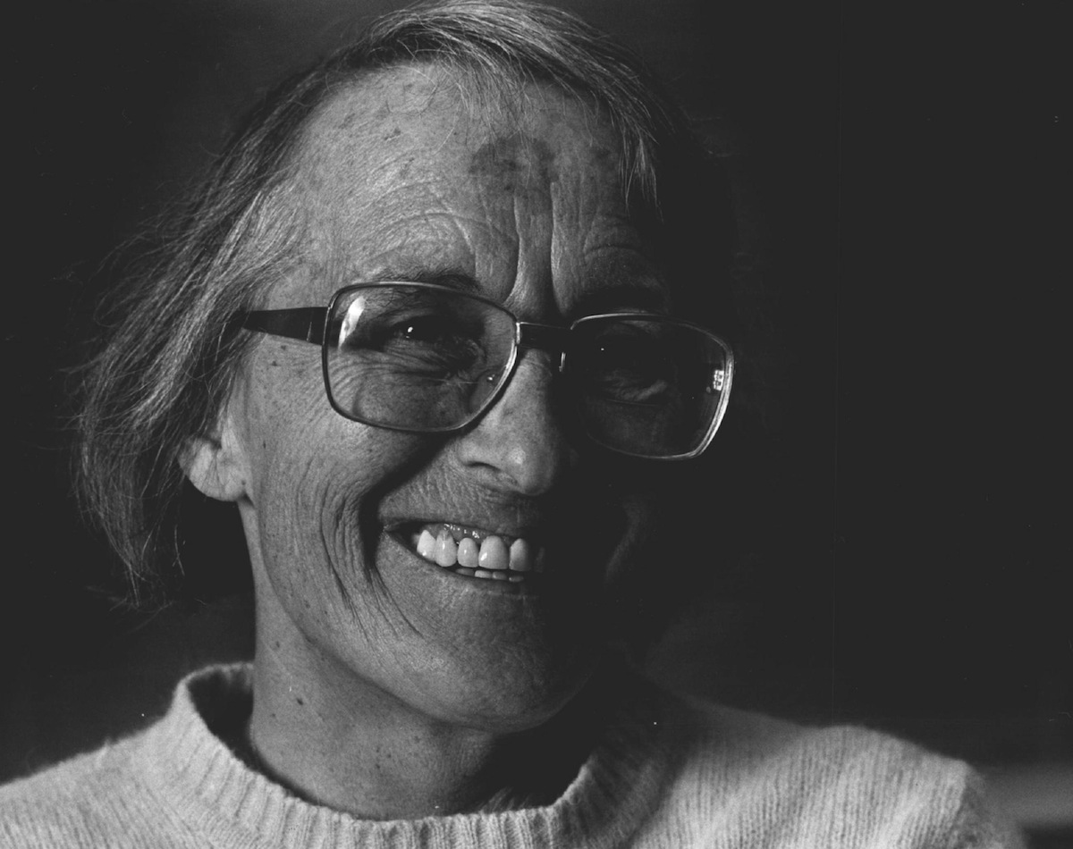 Elisabeth Kubler-Ross in 1983