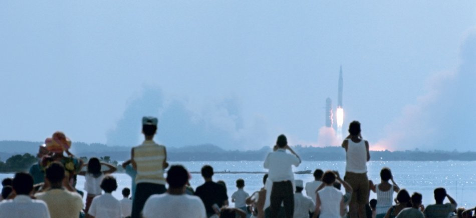 Watching The Apollo 11 Launch