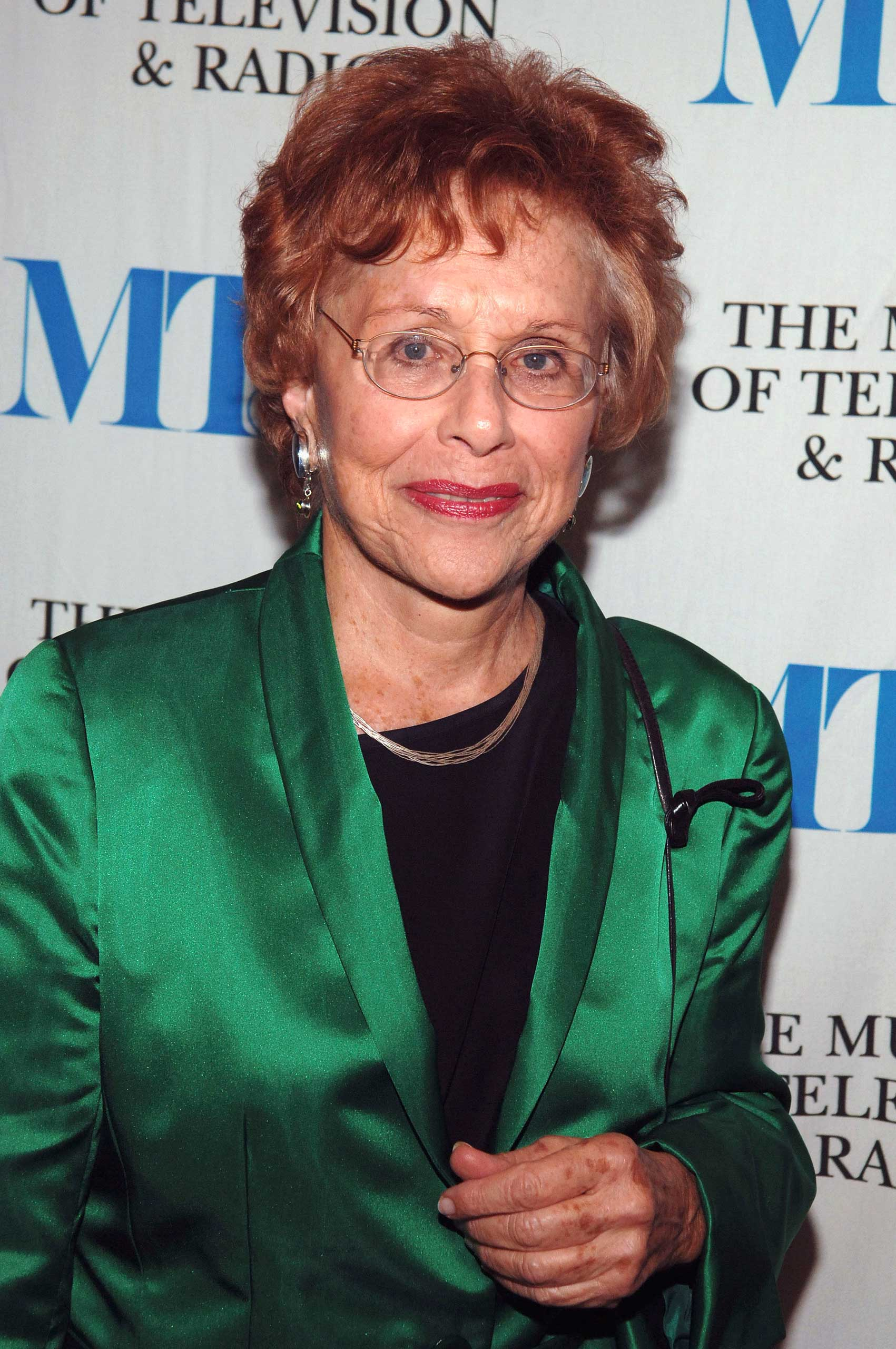Journalist Marlene Sanders at an event in New York in 2005.