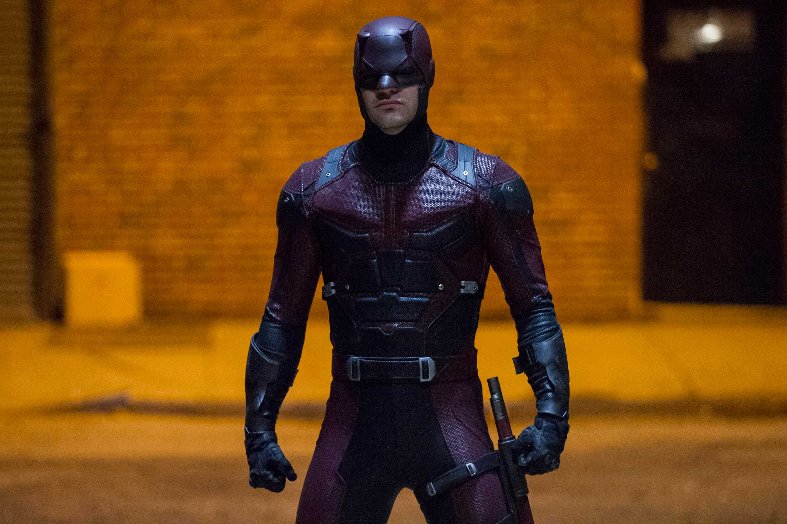 "Charlie Cox as Matt Murdock in the Netflix Original Series ""Marvel's Daredevil"""