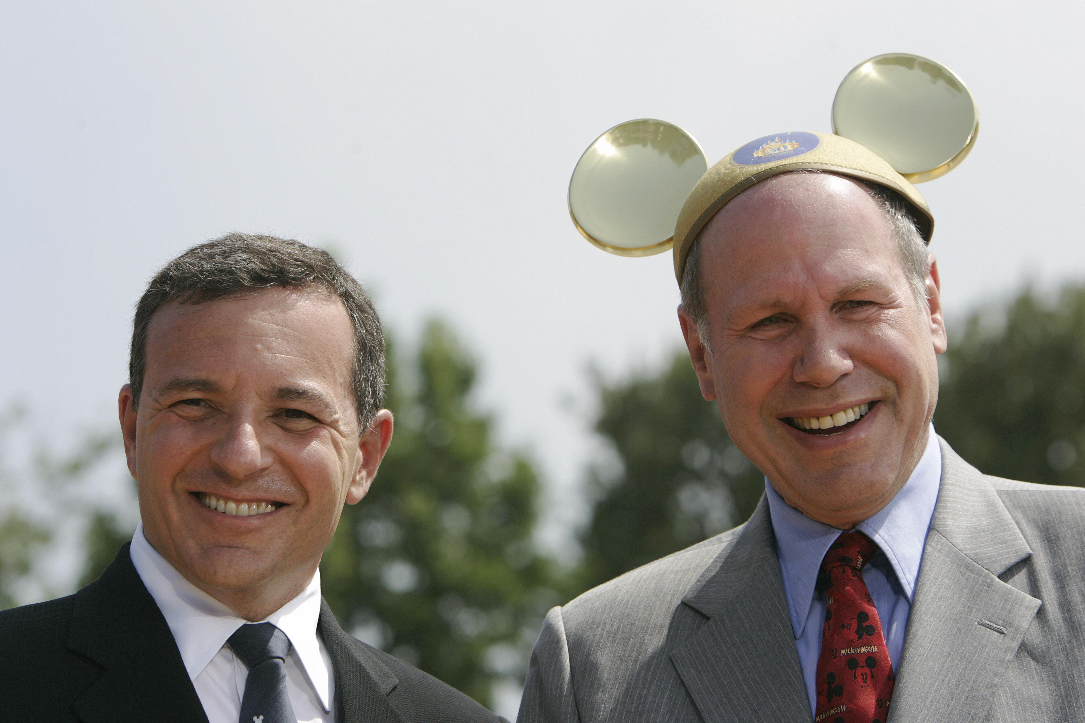 Disney CEO Michael Eisner