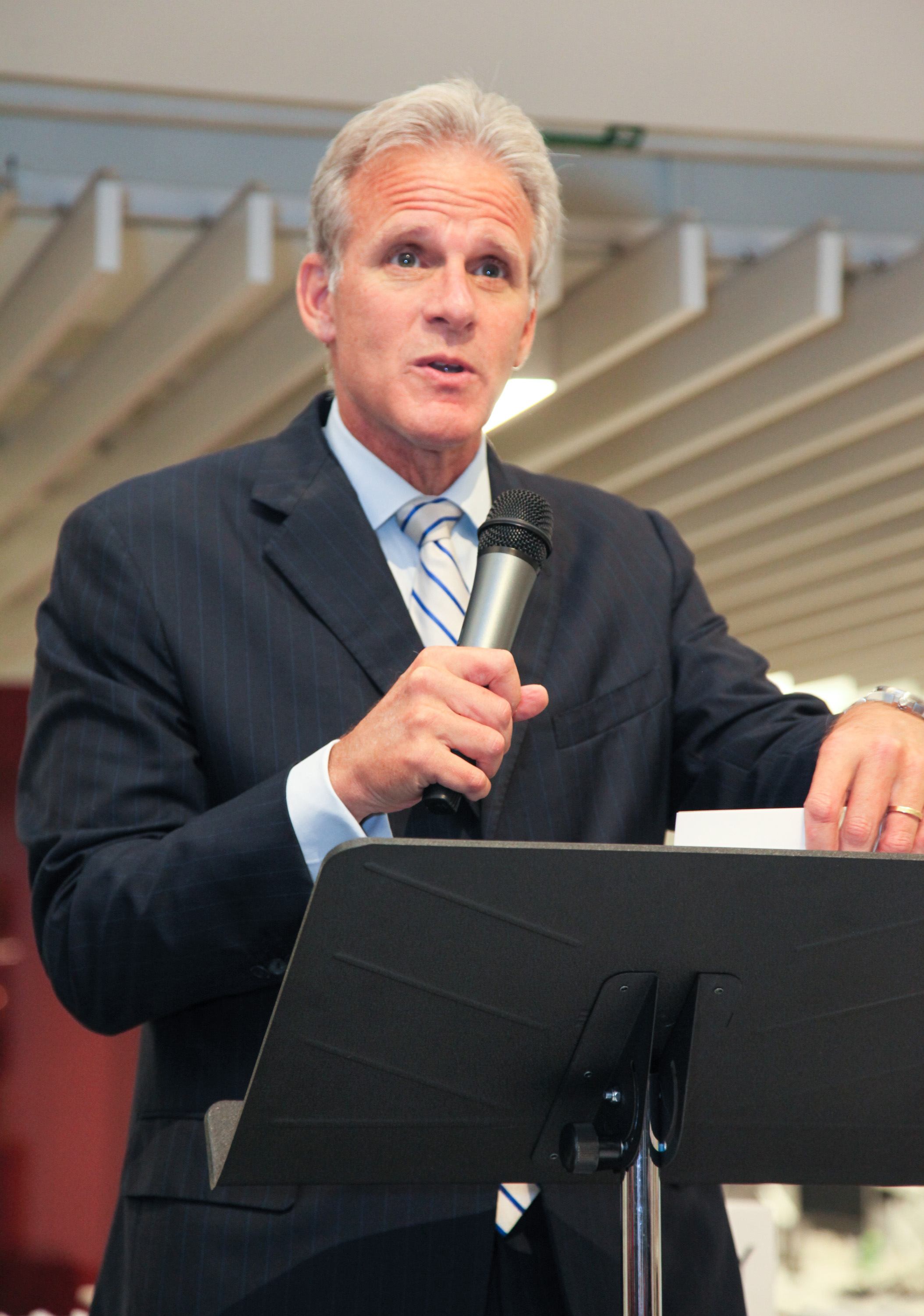 Knesset member Michael Oren speaks during his book release party for  Ally: My Journey Across the American-Israeli Divide  at Gerson Lehrman Group on June 18, 2015 in New York City.