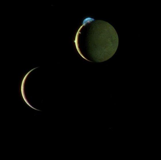 New Horizons Io Europa
