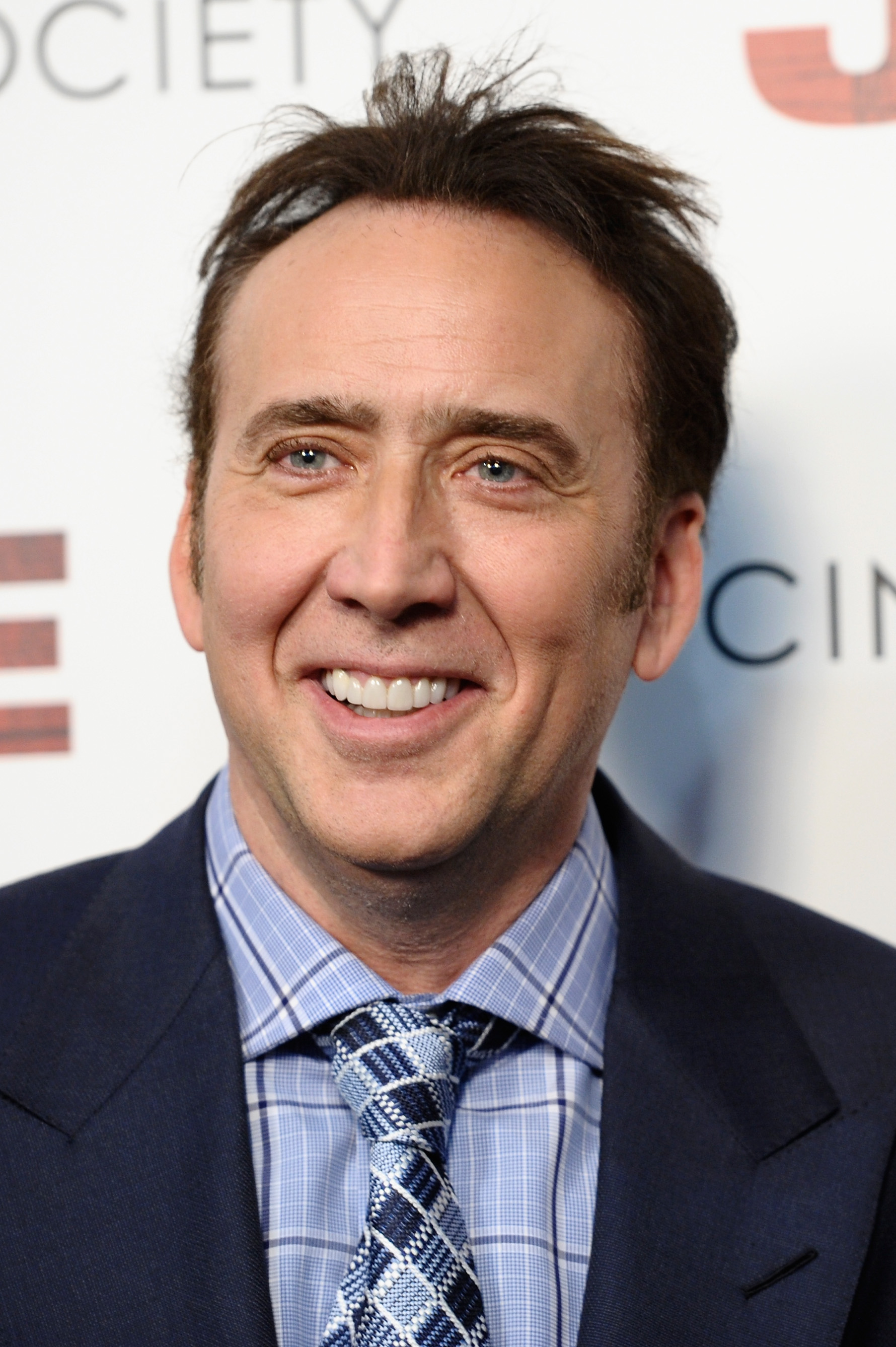 Nicolas Cage attends the a screening of  Joe  April 9, 2014 in New York City.