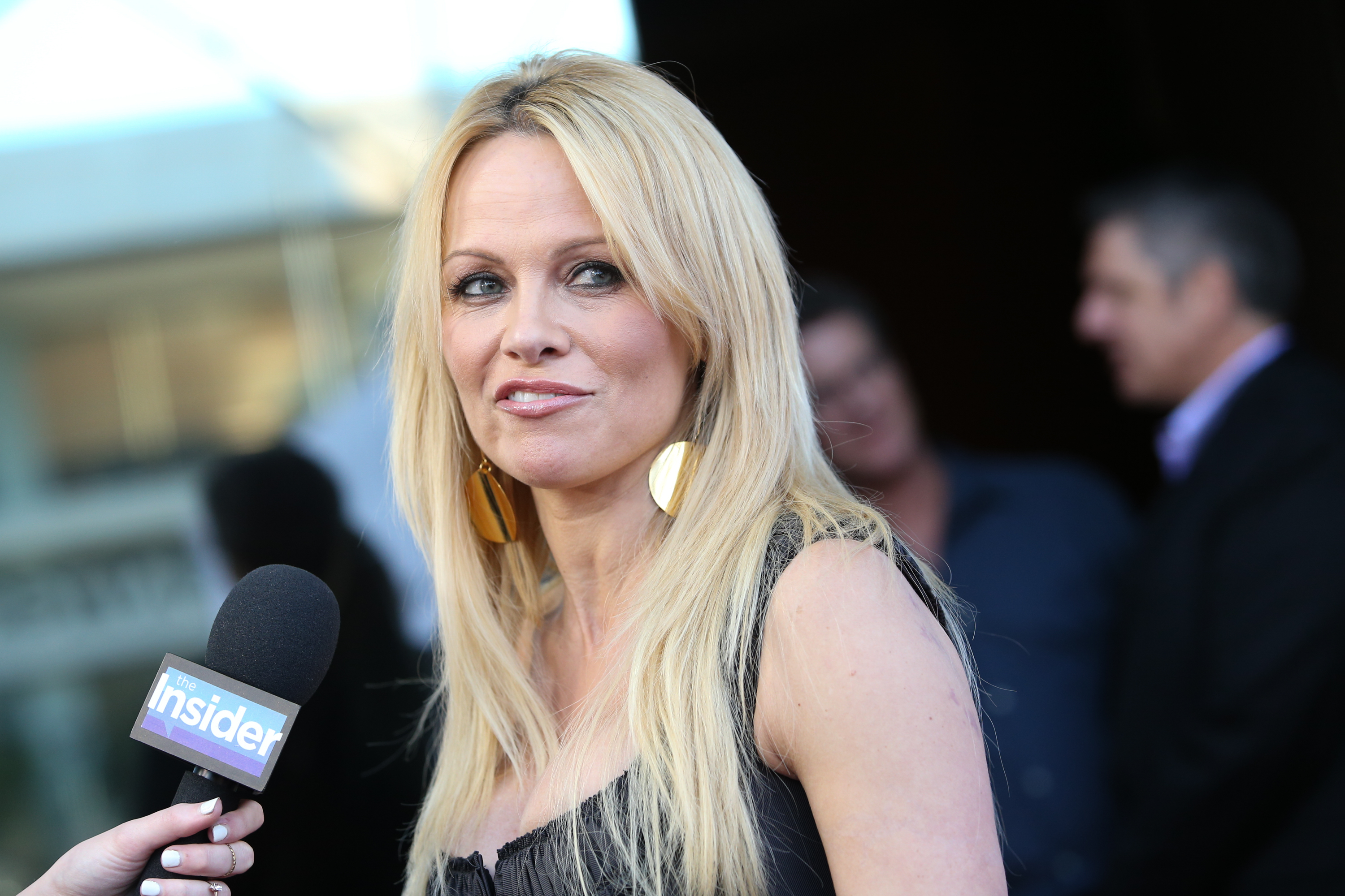 Pamela Anderson in June 2015.