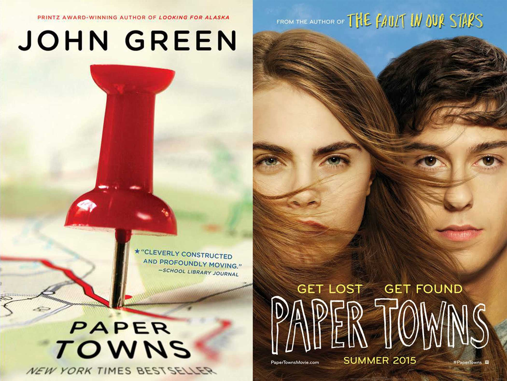 Paper Towns book and movie