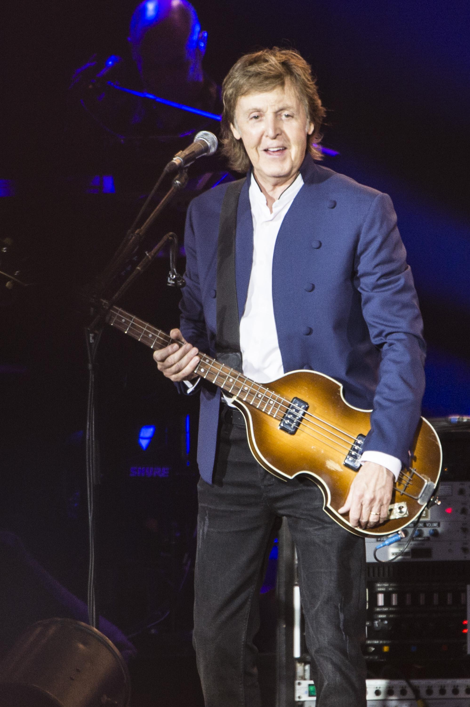 Paul McCartney performs at Roskilde Festival  on July 4, 2015 in Roskilde, Denmark.