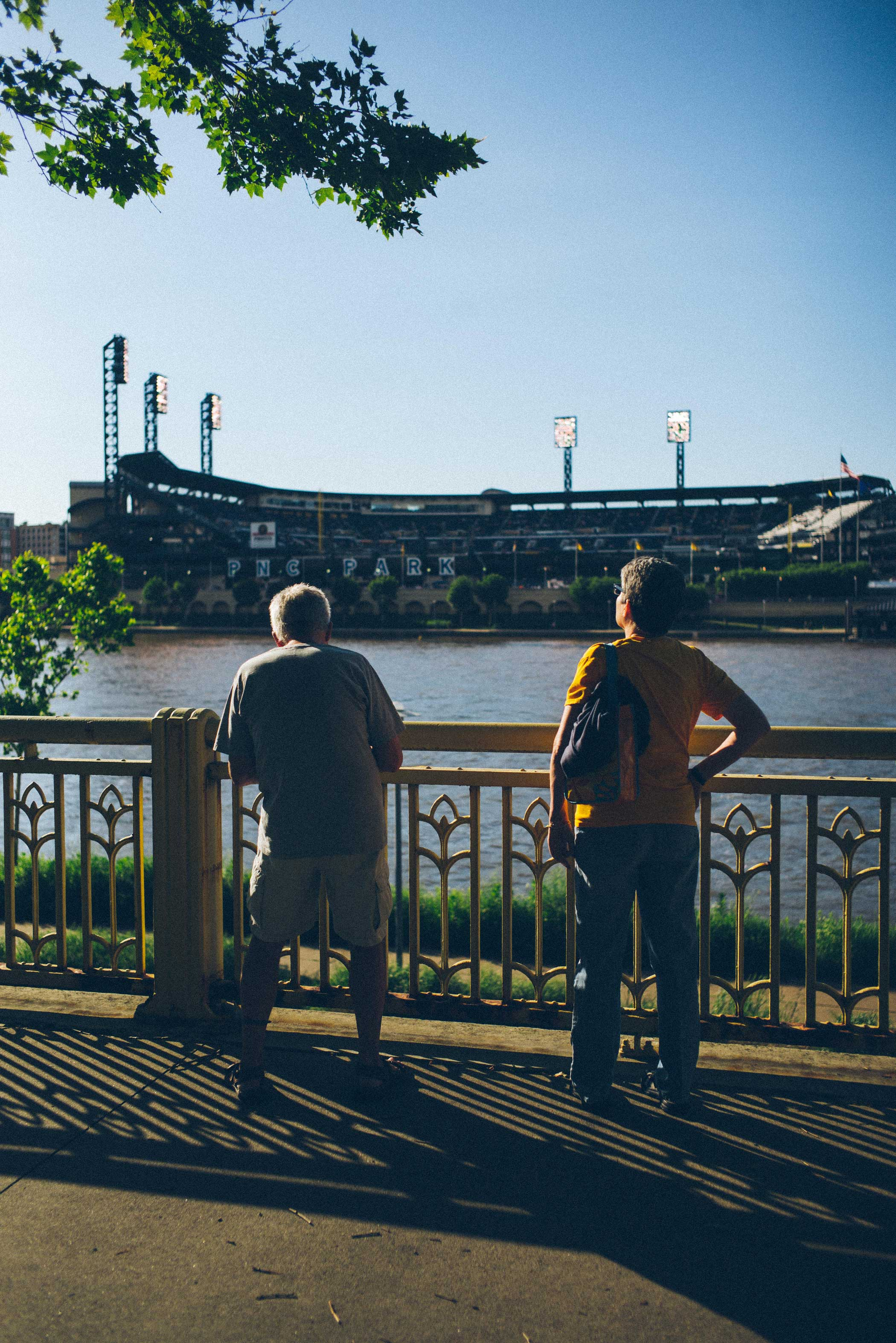 A view of PNC Park on June 24, 2015.