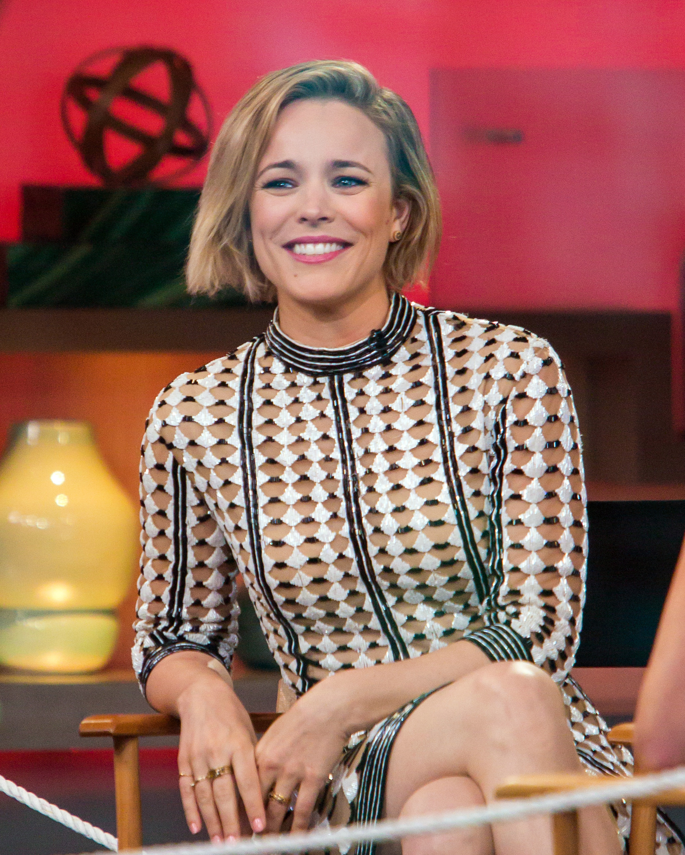 Rachel McAdams is seen on 'Good Morning America' on July 23, 2015 in New York City.
