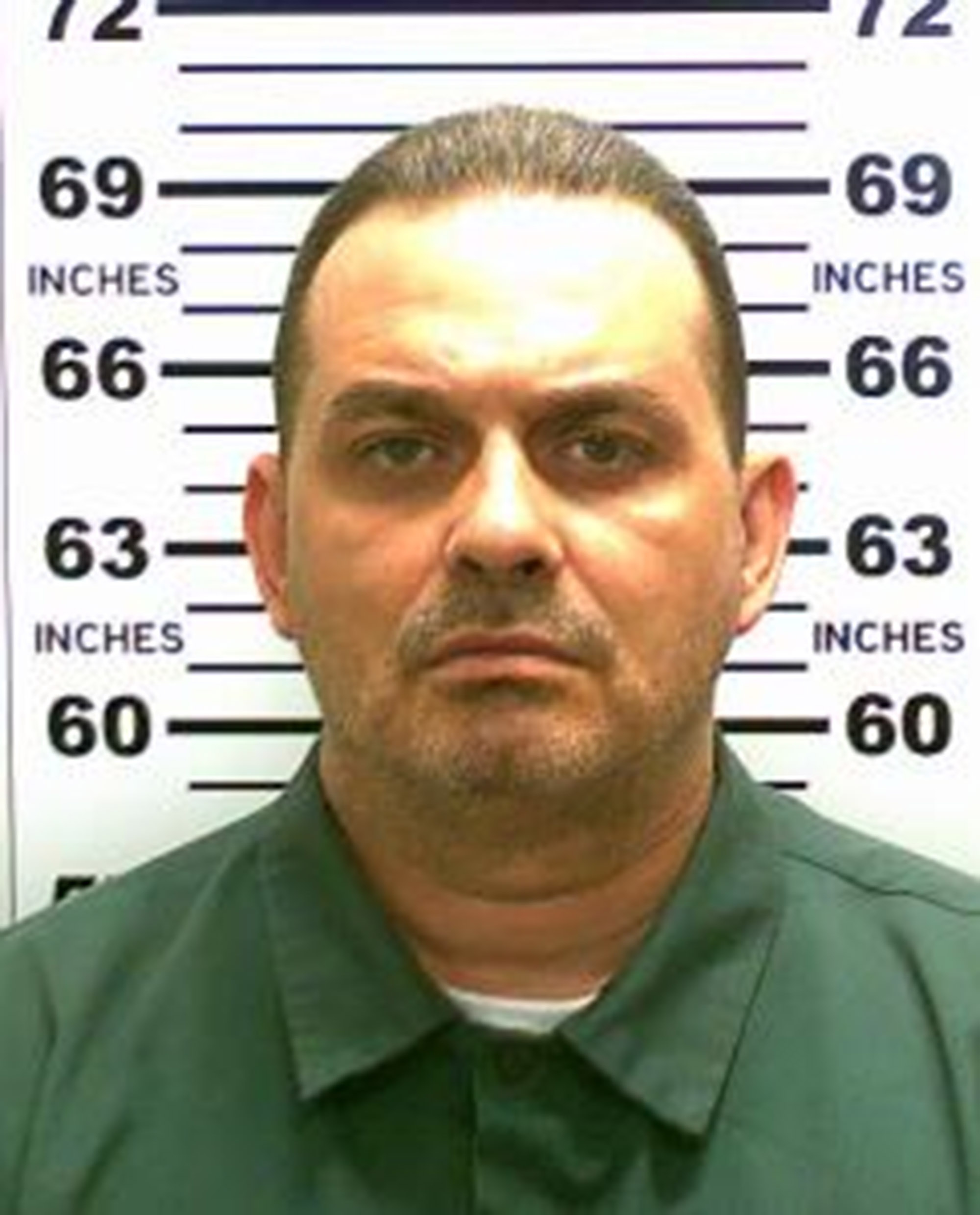 In this handout from New York State Police, convicted murderer Richard Matt is shown.