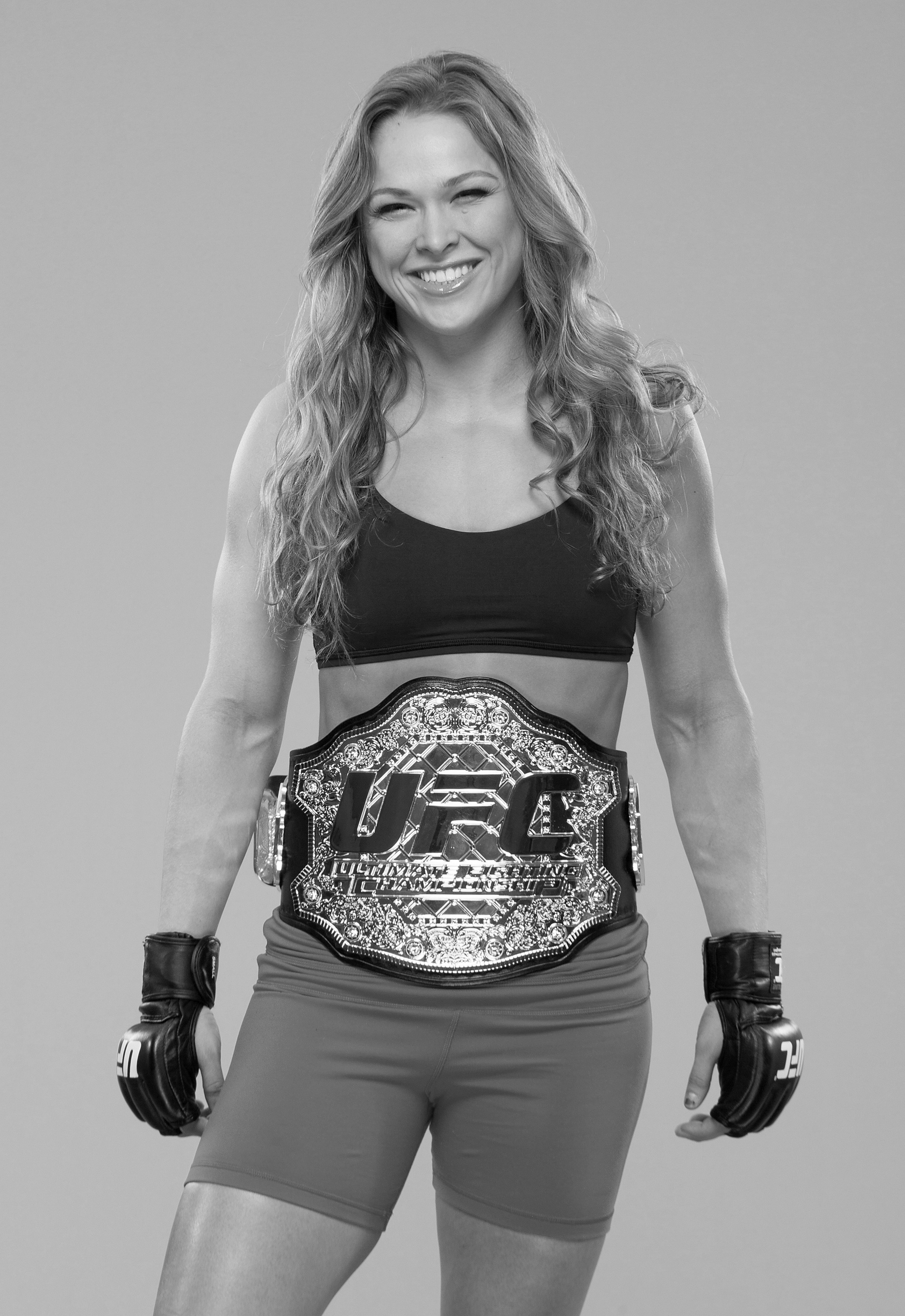 Ronda Rousey poses for a portrait on February 20, 2013 in Anaheim, California.