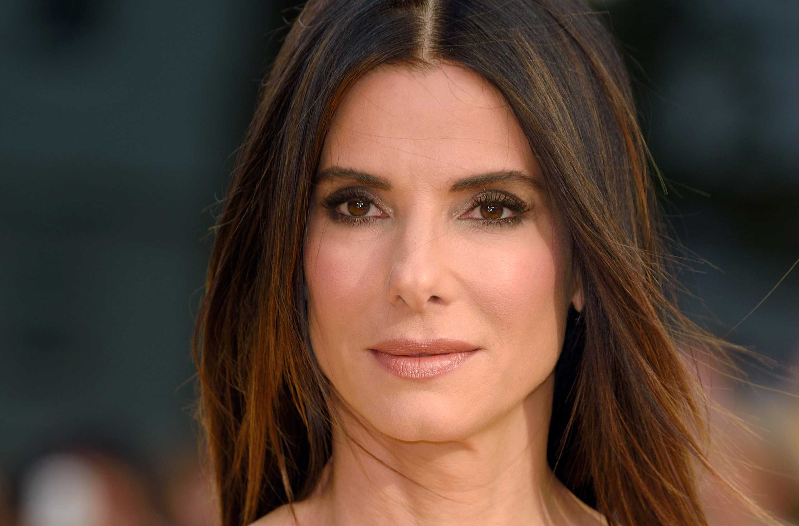 Sandra Bullock attends the World Premiere of  Minions  at Odeon Leicester Square in London on June 11, 2015.